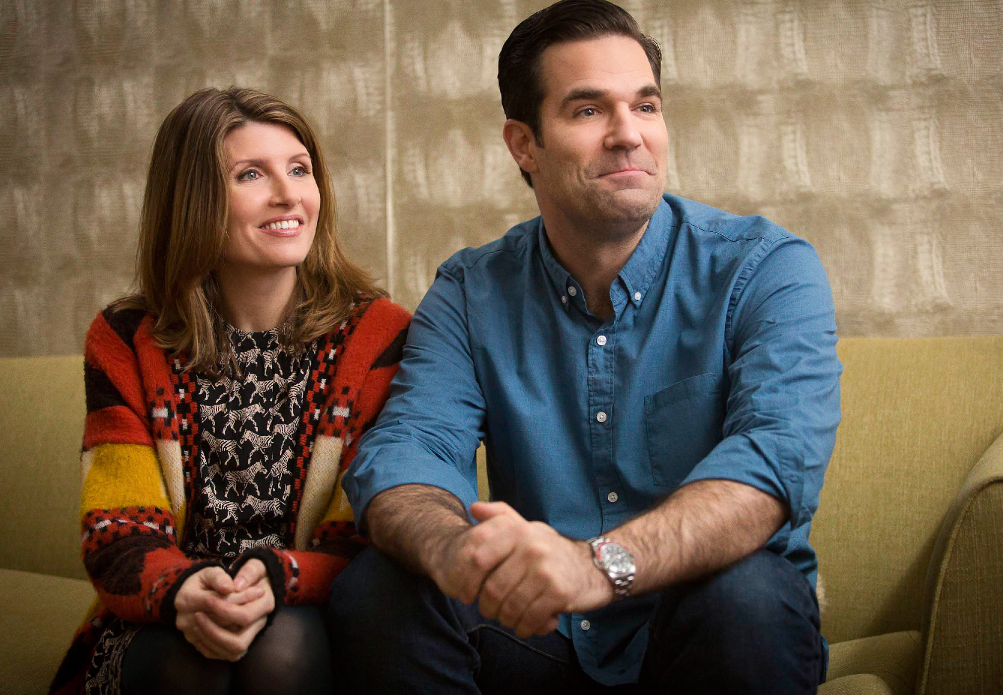 Rob Delaney and Sharon Horgan star in Catastrophe
