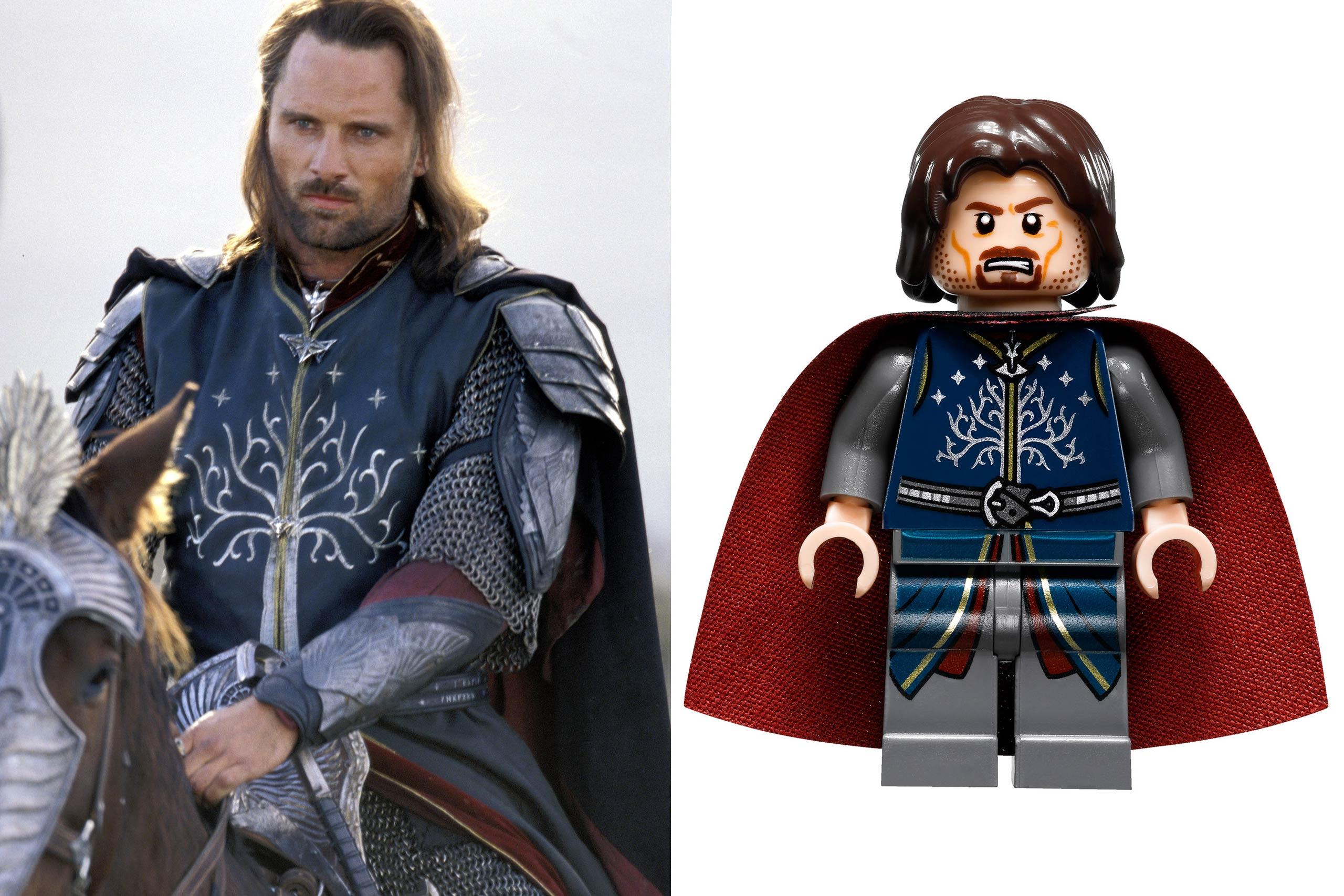 <strong>Viggo Mortensen: Aragorn</strong>