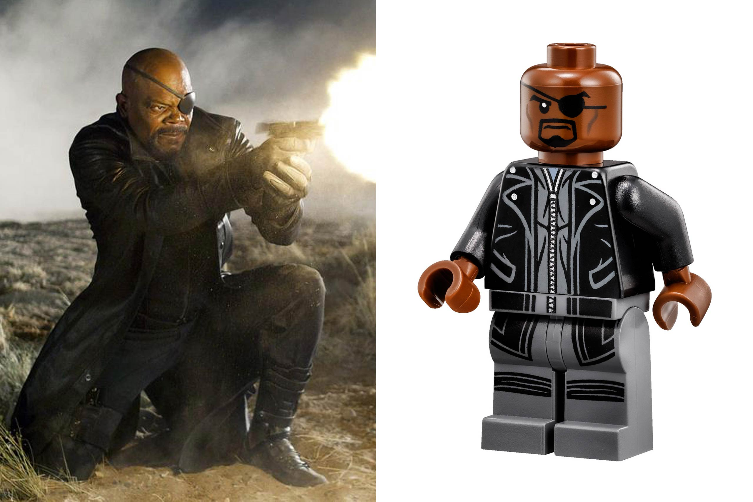 <strong>Samuel L. Jackson: Nick Fury</strong>