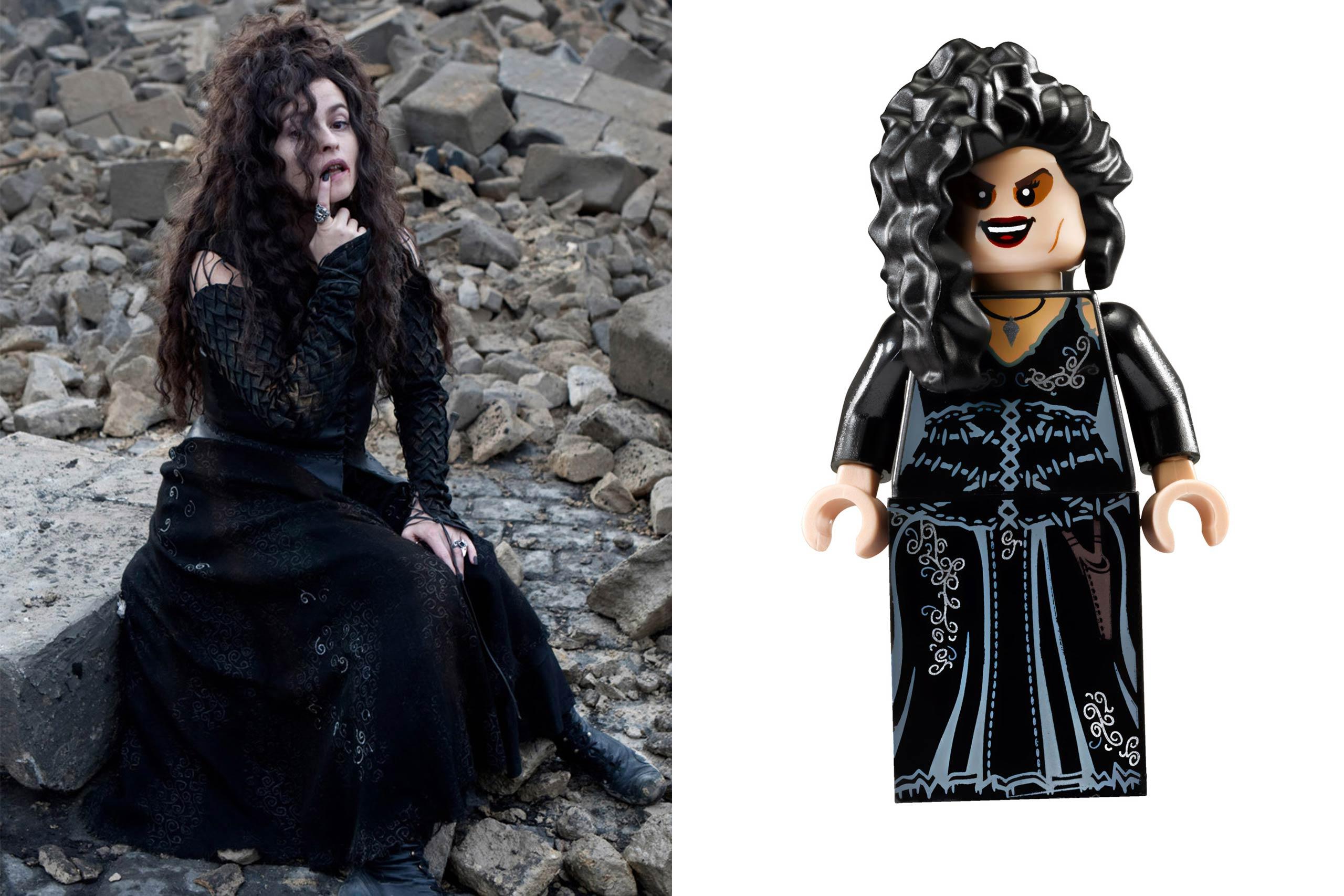 <strong>Helena Bonham Carter: Bellatrix Lestrange</strong>