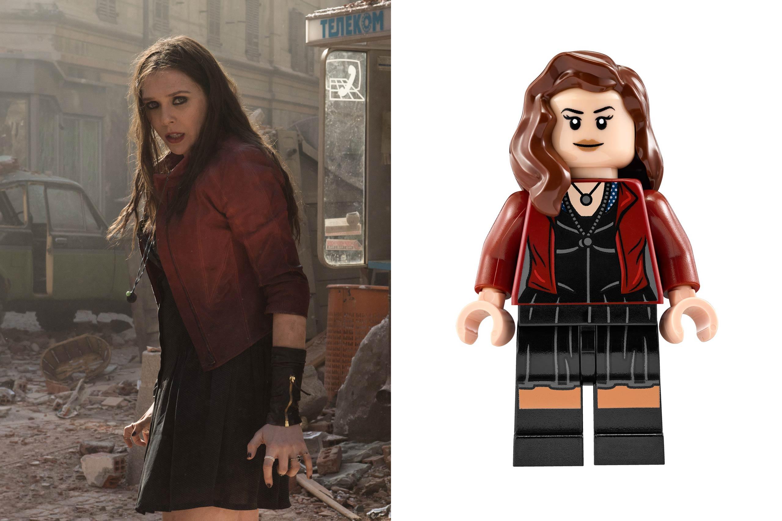 <strong>Elizabeth Olsen: Scarlet Witch</strong>