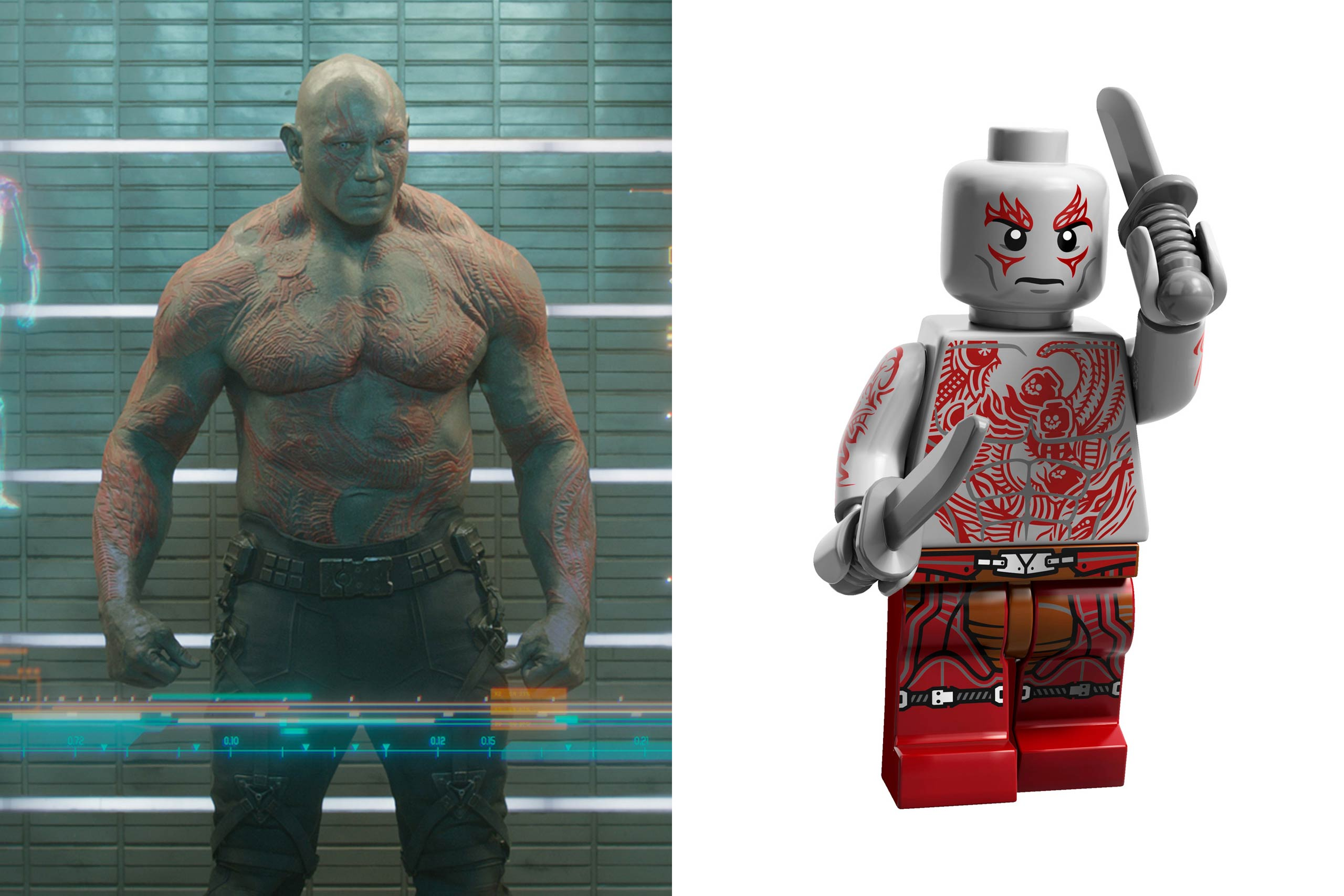 <strong>Dave Bautista: Drax</strong>