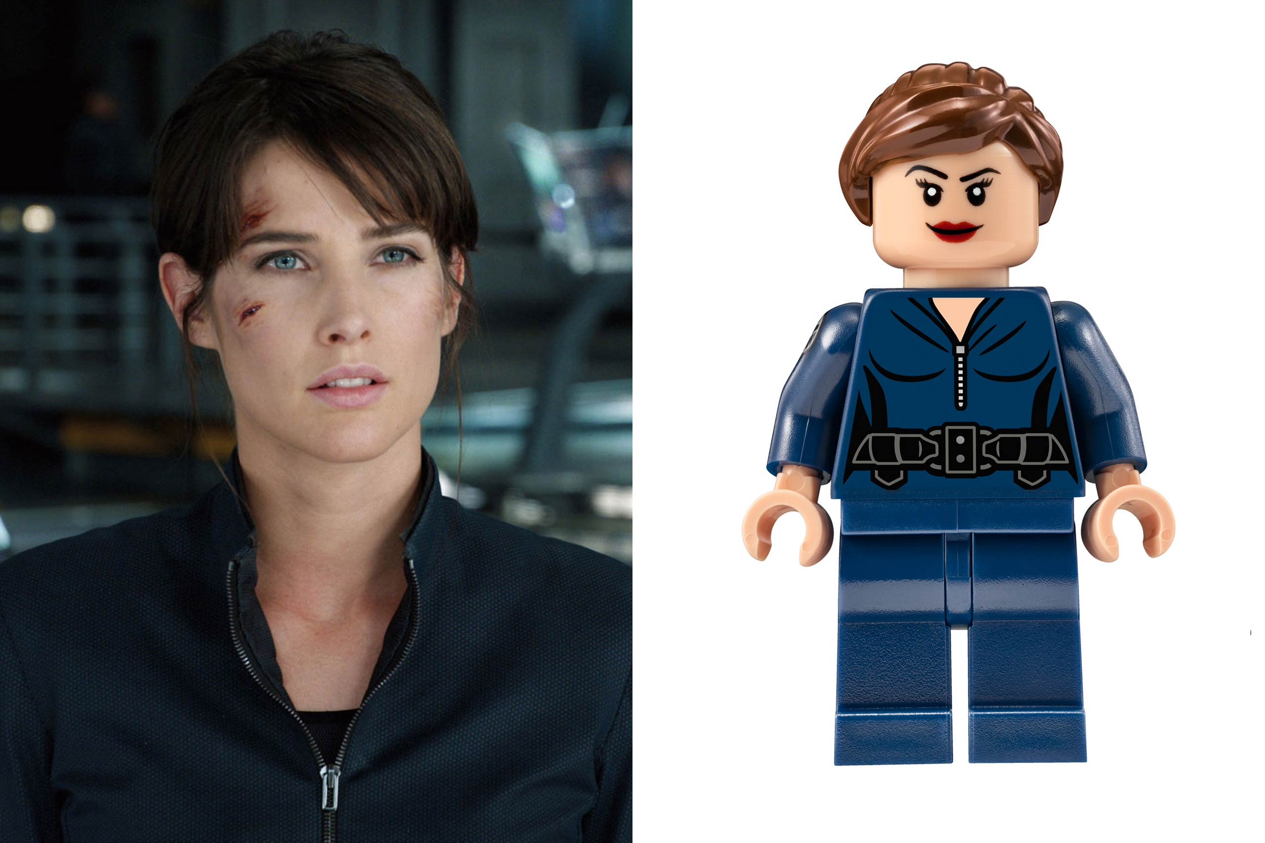 <strong>Cobie Smulders: Agent Maria Hill</strong>