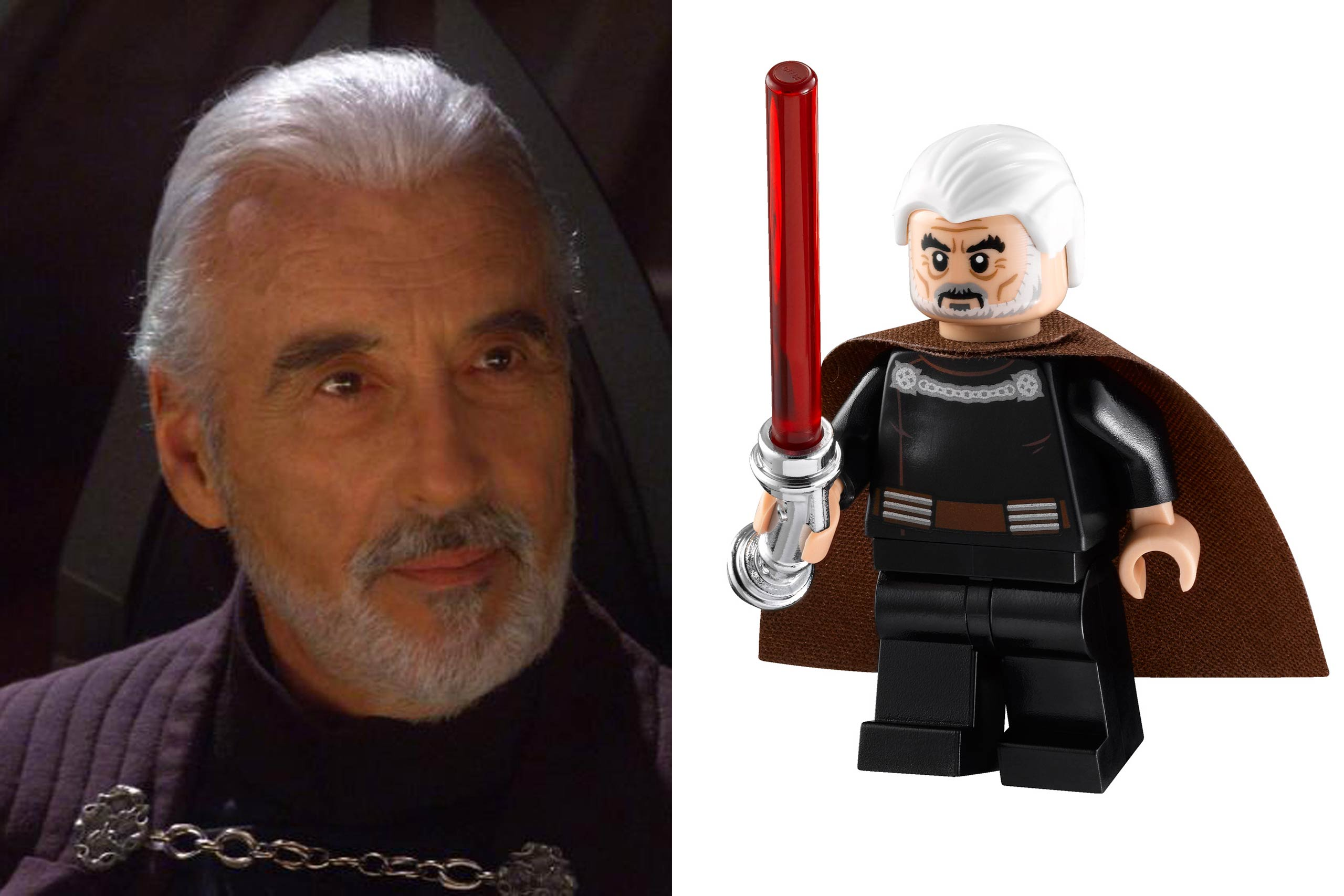 <strong>Christopher Lee: Count Dooku</strong>