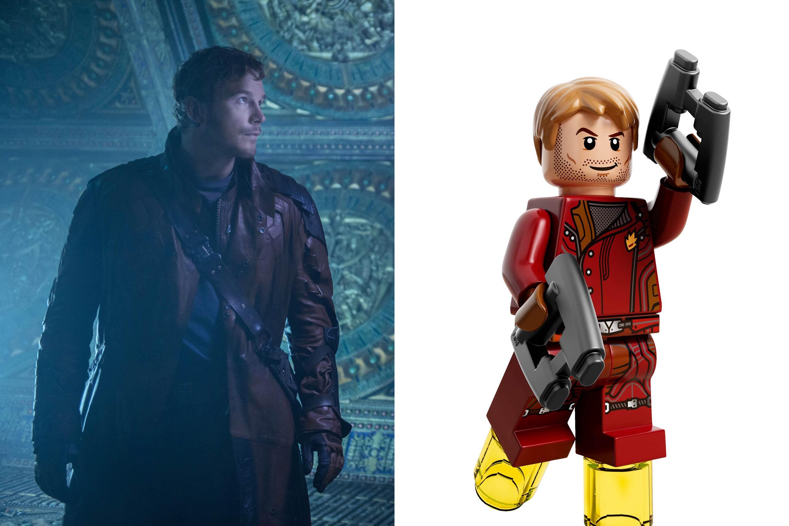 <strong>Chris Pratt: Star Lord</strong>