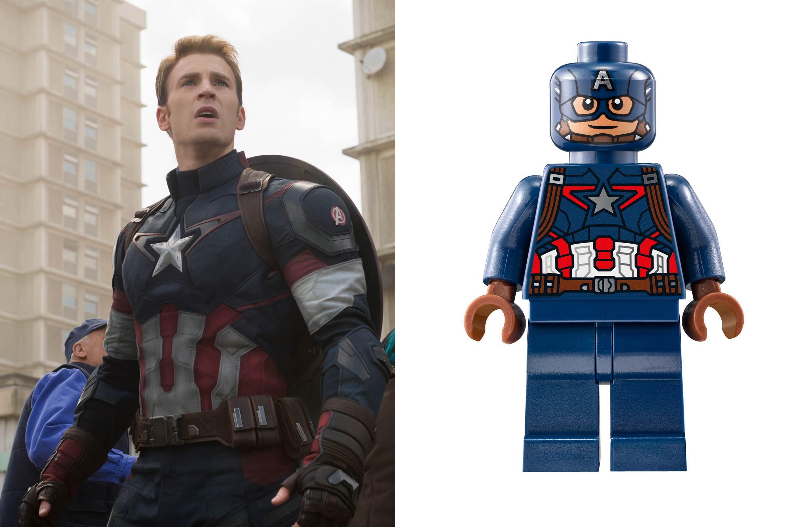 <strong>Chris Evans: Captain America</strong>