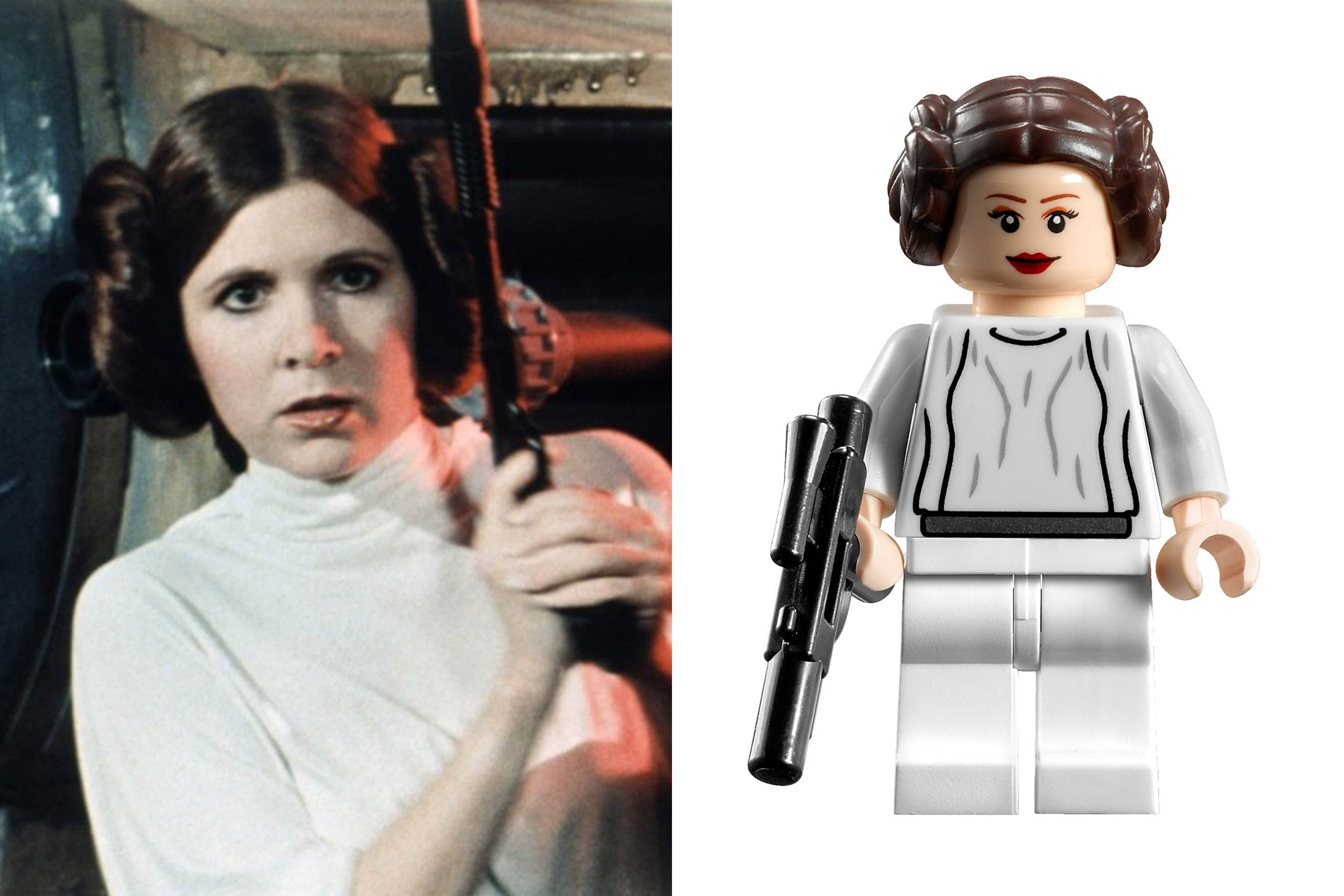<strong>Carrie Fisher: Leia Organa</strong>