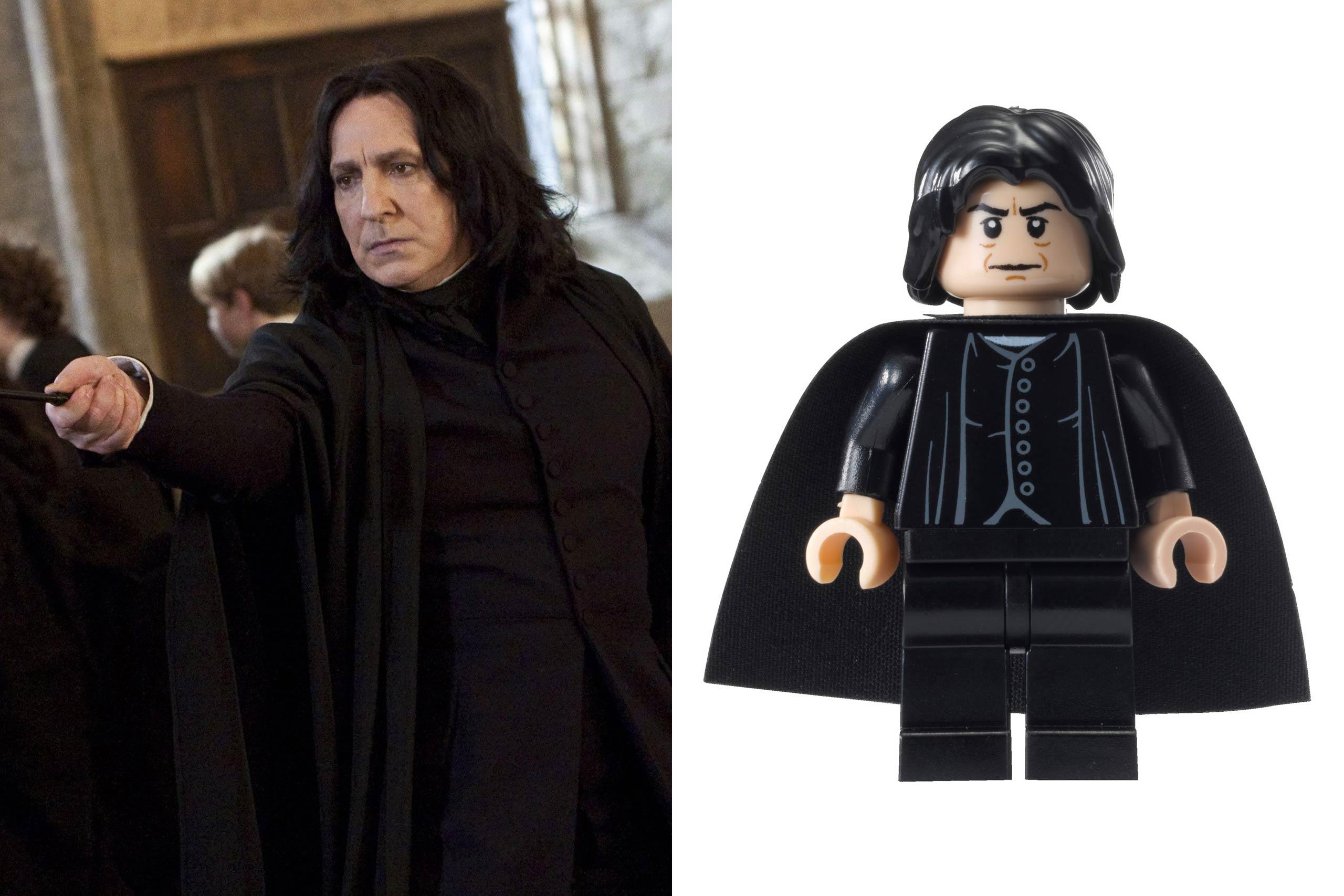 <strong>Alan Rickman: Professor Snape</strong>
