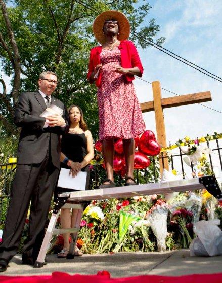 Charleston Shooting Memorial Emanuel AME Church