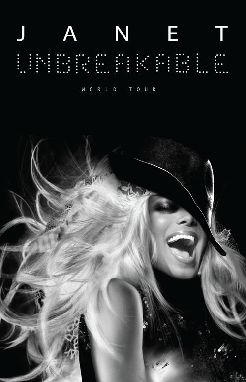 Janet Jackson's Unbreakable World Tour.