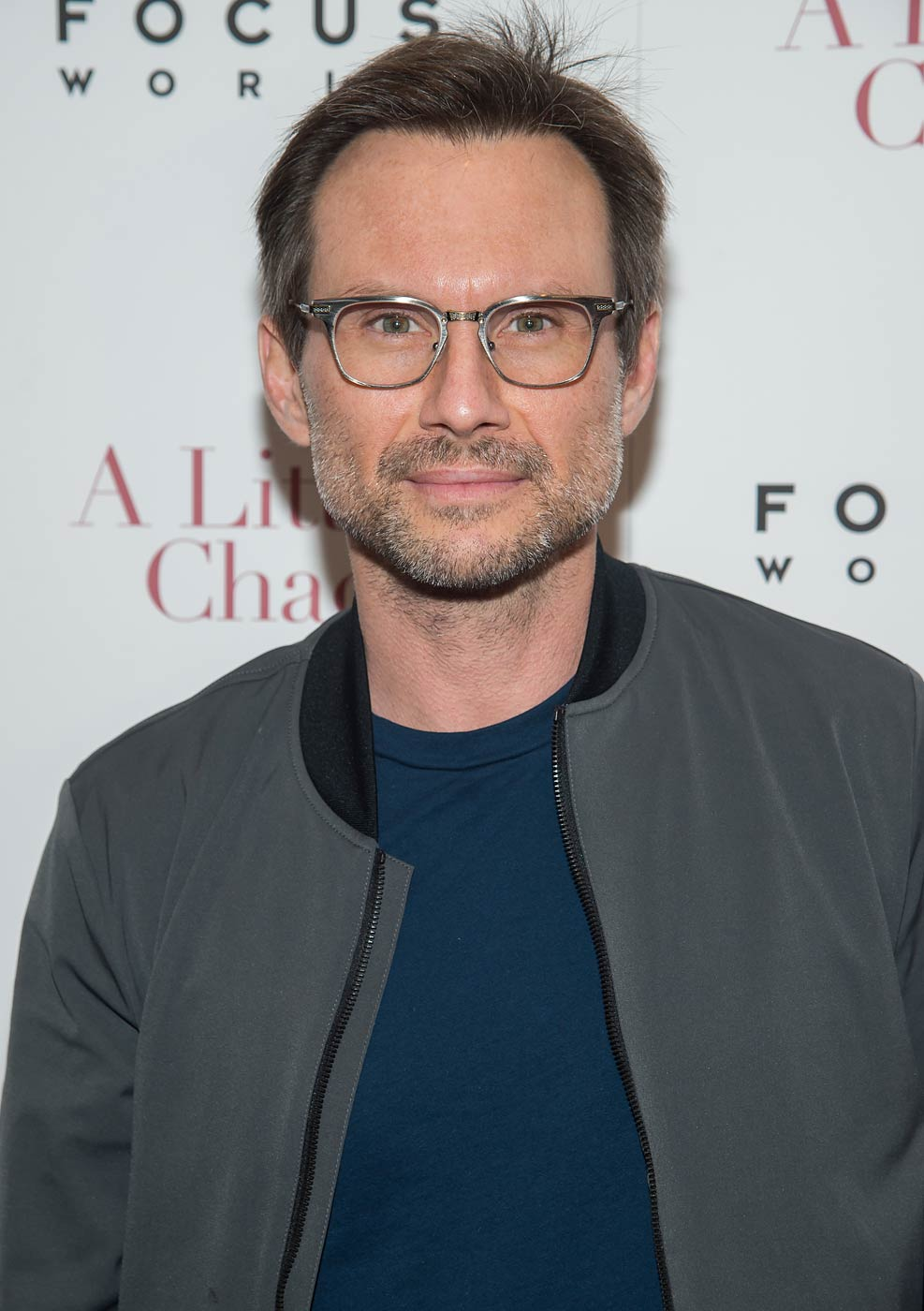 Christian Slater attends A Little Chaos New York Premiere at the Museum of Modern Art on June 17, 2015 in New York City.