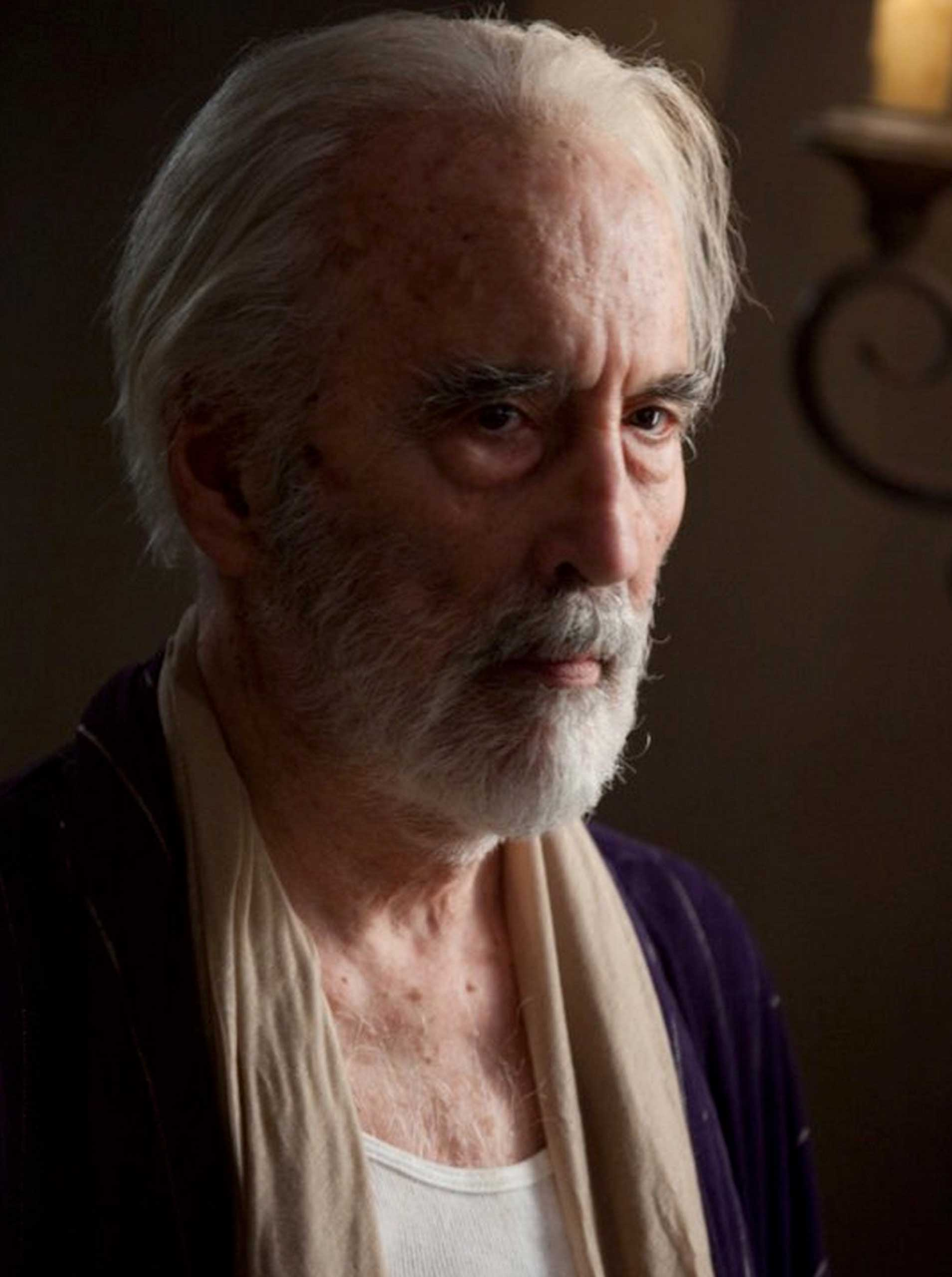 Christopher Lee in The Resident (2011).