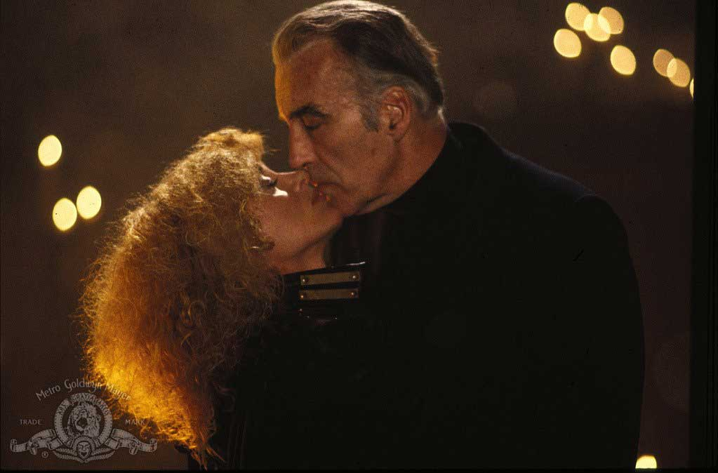 Christopher Lee in Howling II-  ... Your Sister Is a Werewolf (1985).