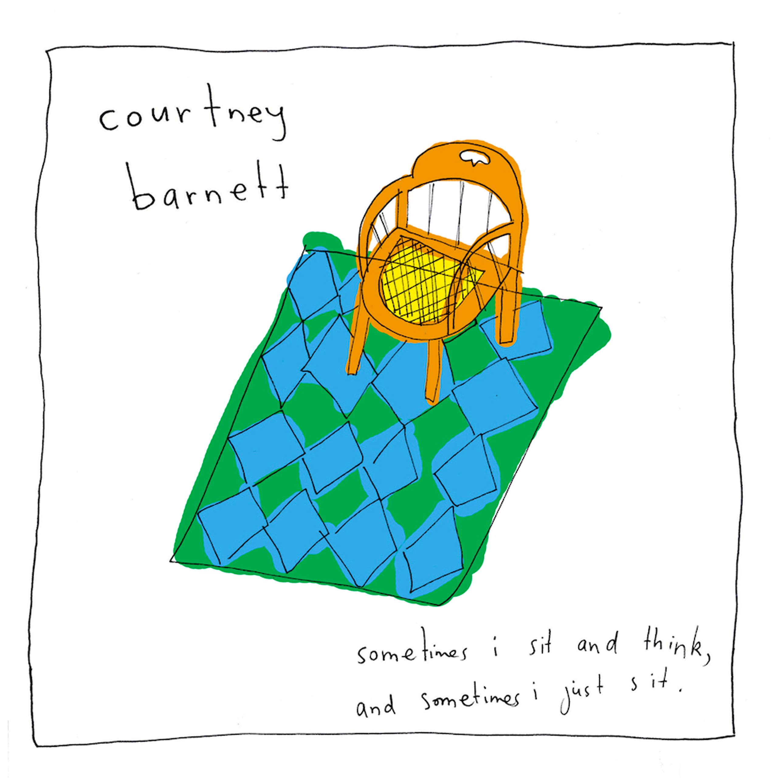 Best of Albums 2015 - Courtney Barnett, Sometimes I Sit and Think, And Sometimes I Just Sit