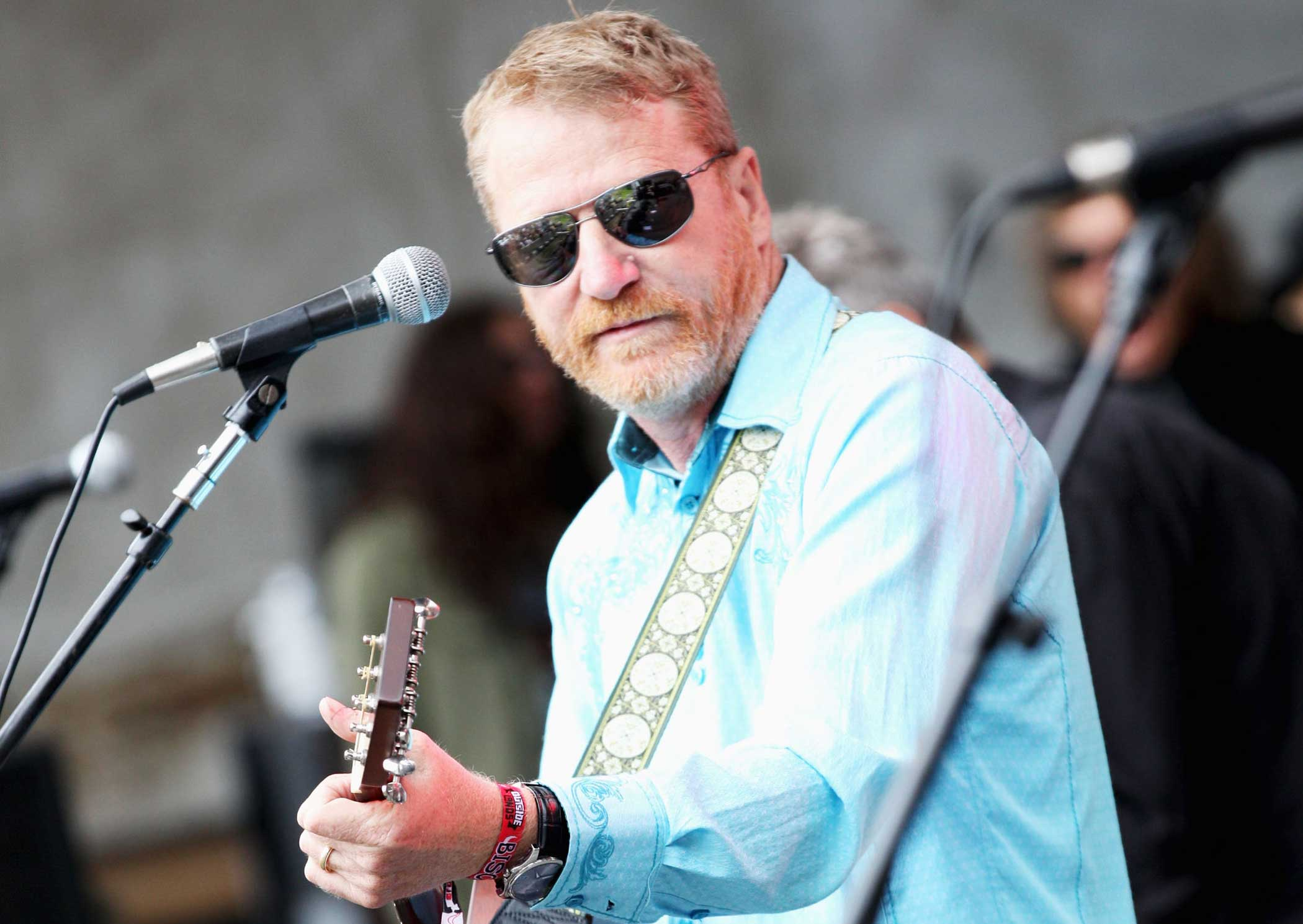 Musician David Lowery of Camper von Beethoven performs at the Sutro Stage during Day 3 of the 2013 Outside Lands Music And Arts Festival at Golden Gate Park on Aug. 11, 2013 in San Francisco.