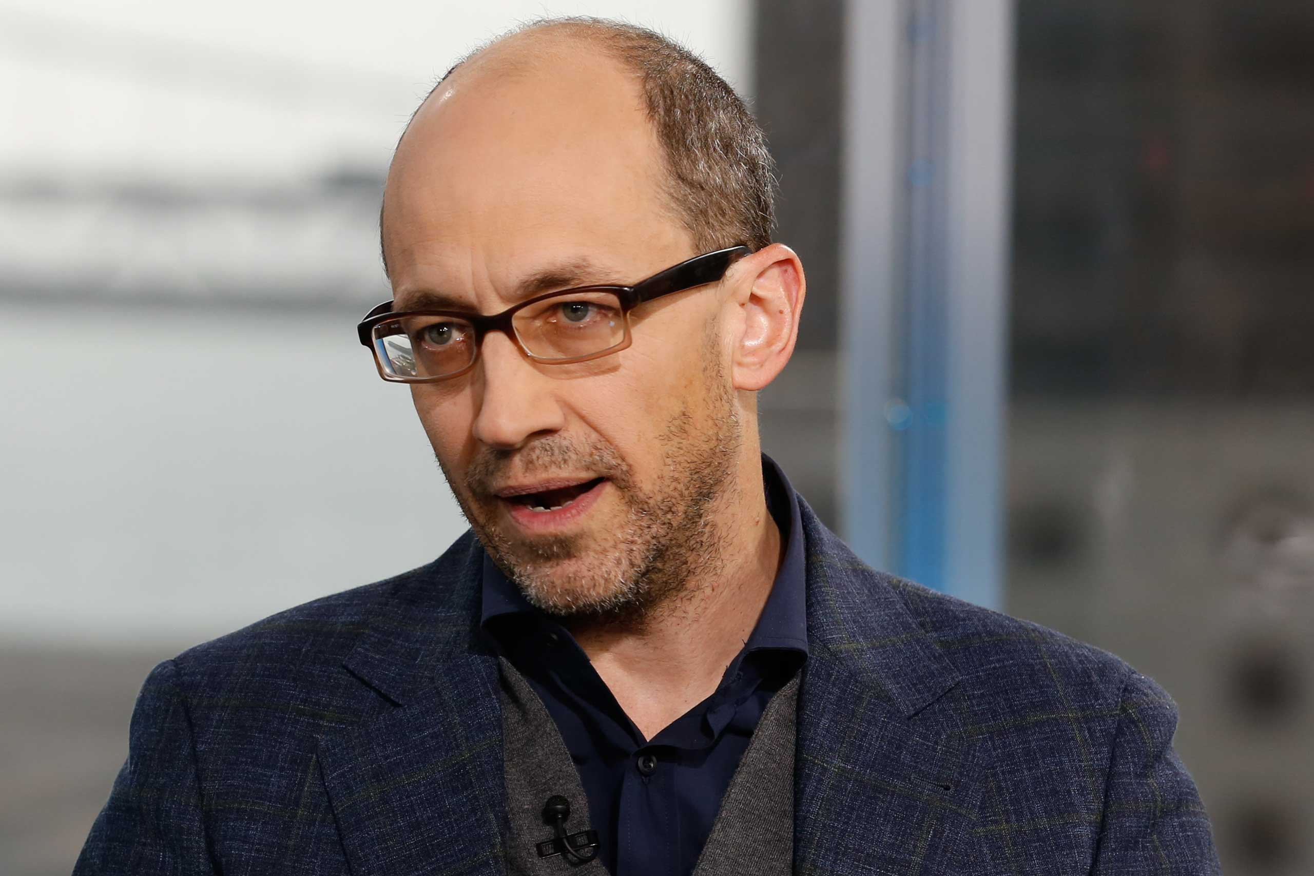 Dick Costolo, CEO of Twitter, in an interview at CNBC's San Francisco bureau, on April 29, 2015