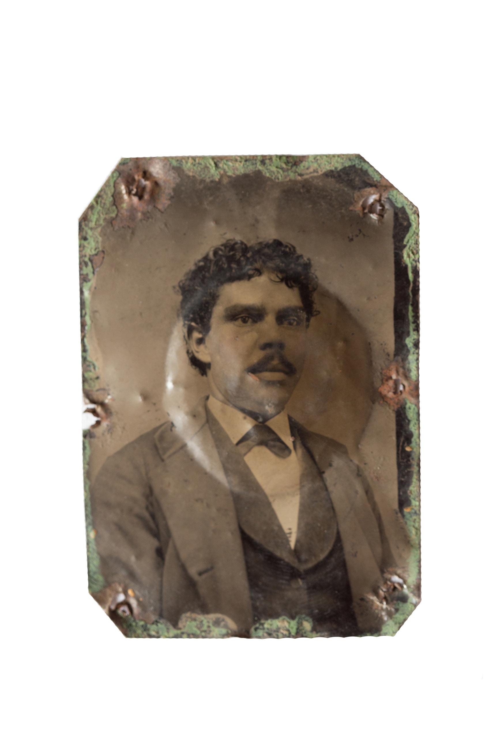 Unidentified Native American man.