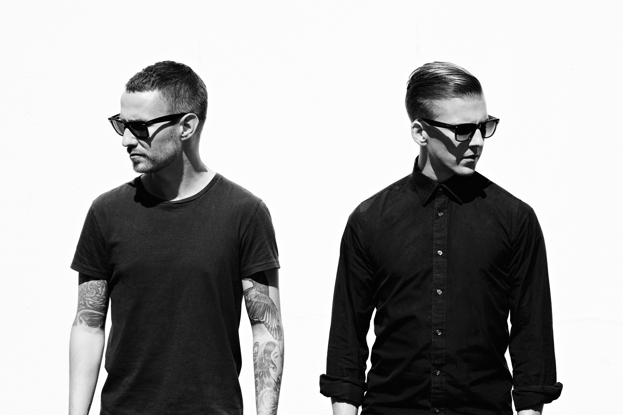 Christian Karlsson and Linus Eklöw of Galantis