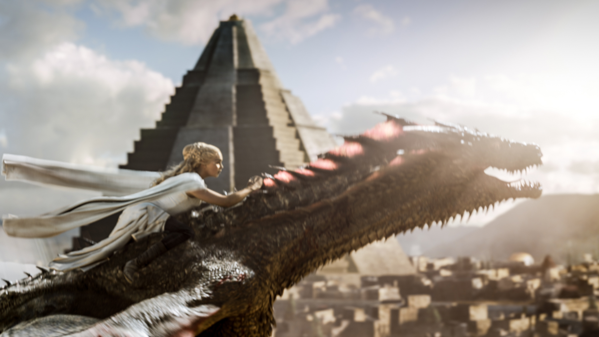 Game of Thrones Daenerys Drogo dragon