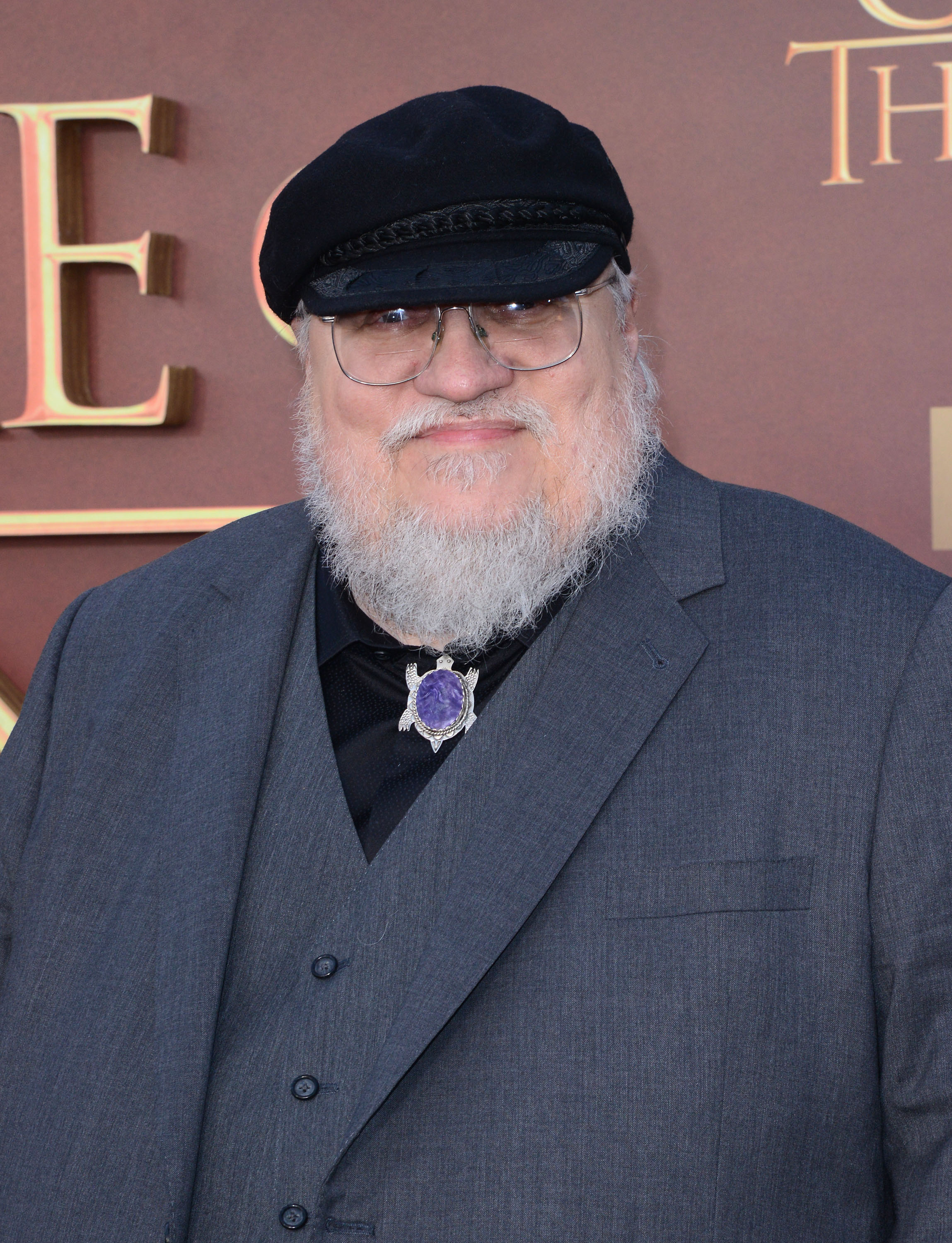 Writer/co-executive producer George R.R. Martin attends HBO's 'Game of Thrones' Season 5 Premiere at the San Francisco War Memorial Opera House on March 23, 2015 in San Francisco, California.