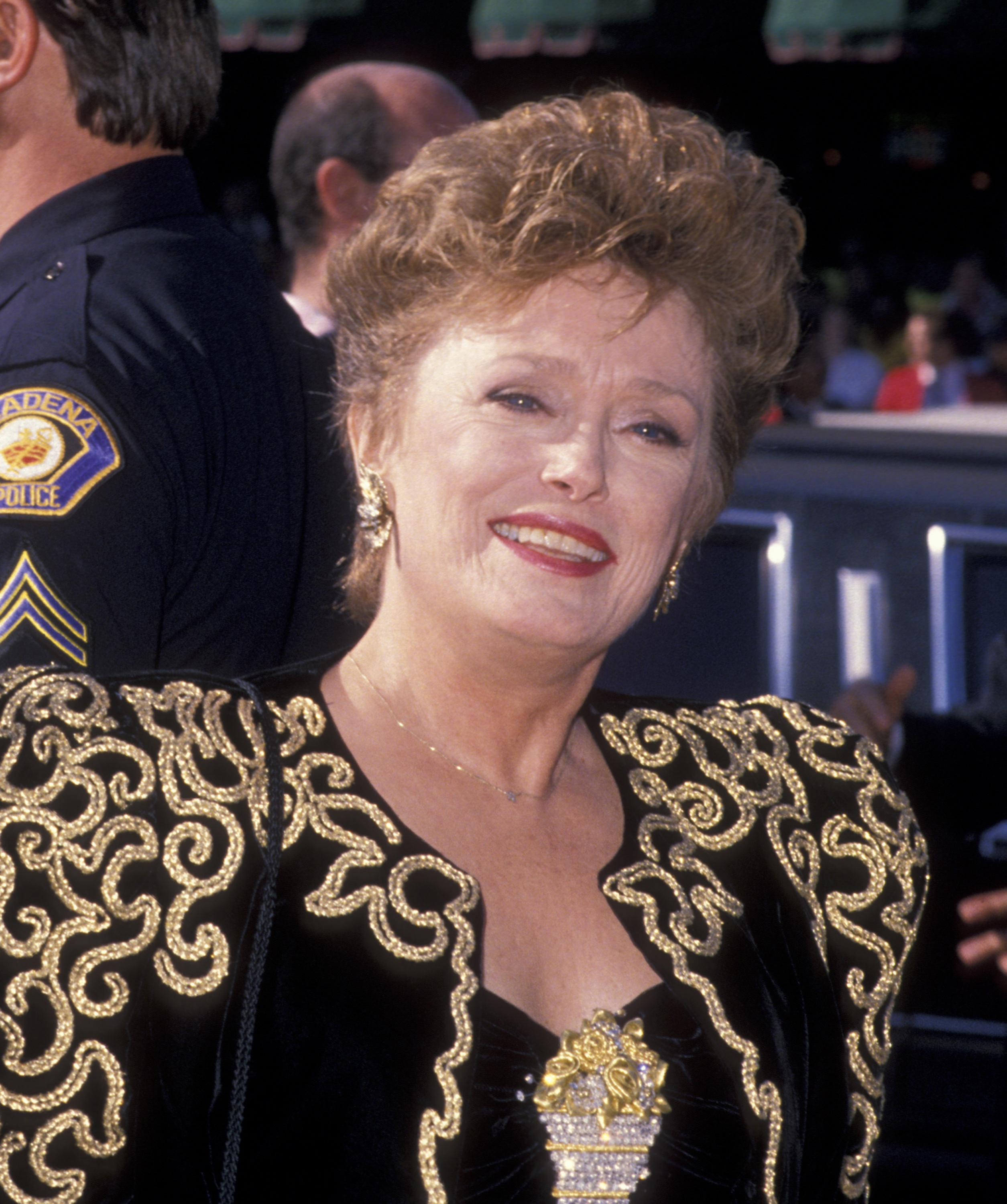 Actress Rue McClanahan attends 41st Annual Primetime Emmy Awards on Sept. 17, 1989, at the Pasadena Civic Auditorium in Pasadena, Calif.