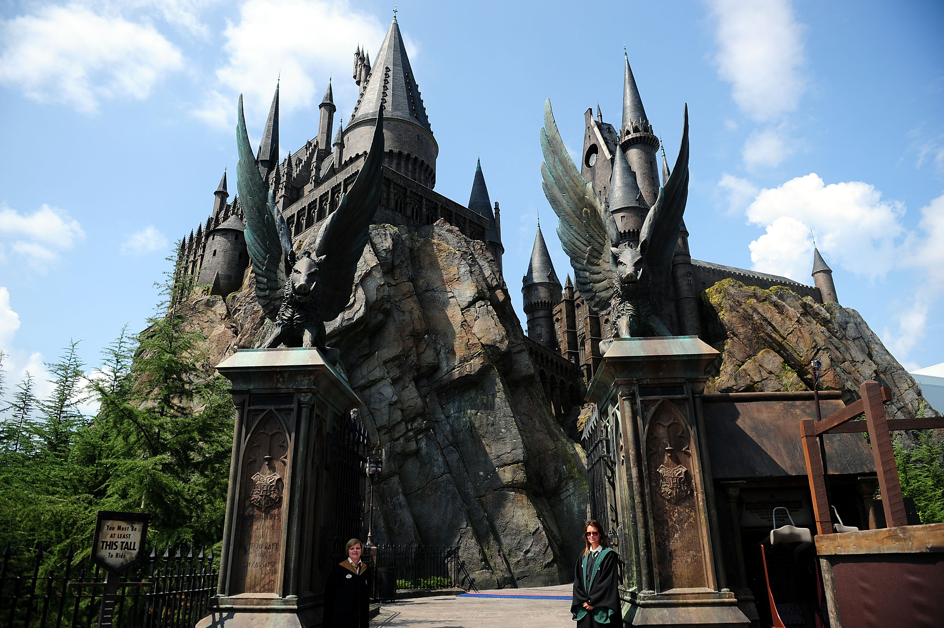 General view at the Grand Opening of The Wizarding World of Harry Potter at Universal Orlando on June 17, 2010 in Orlando, Florida.