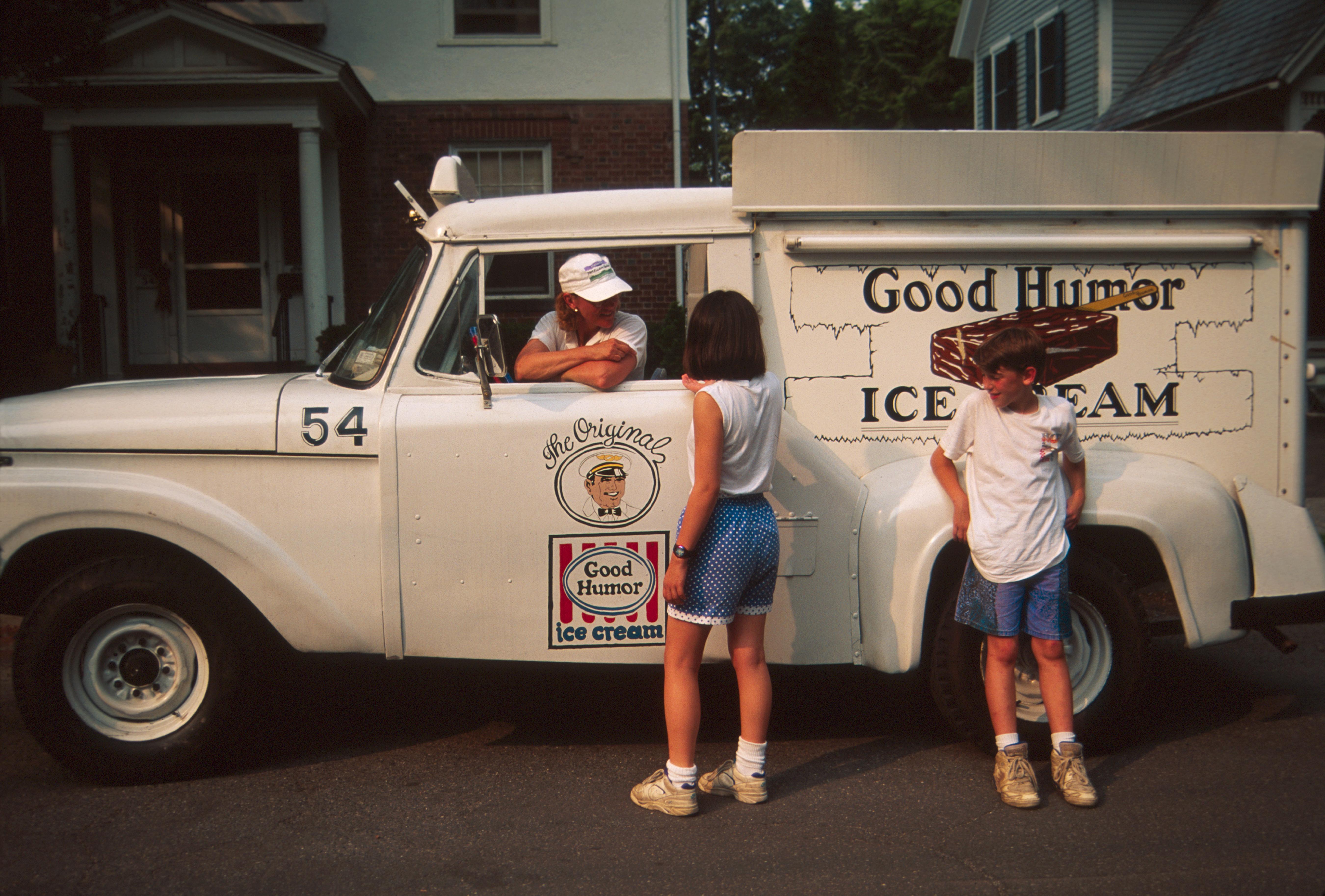 A Good Humor ice cream truck.
