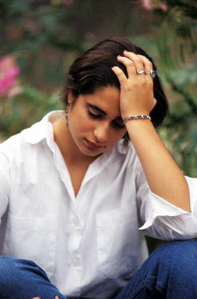 Depressed Teenage Girl. (Photo by Education Images/UIG via Getty Images)