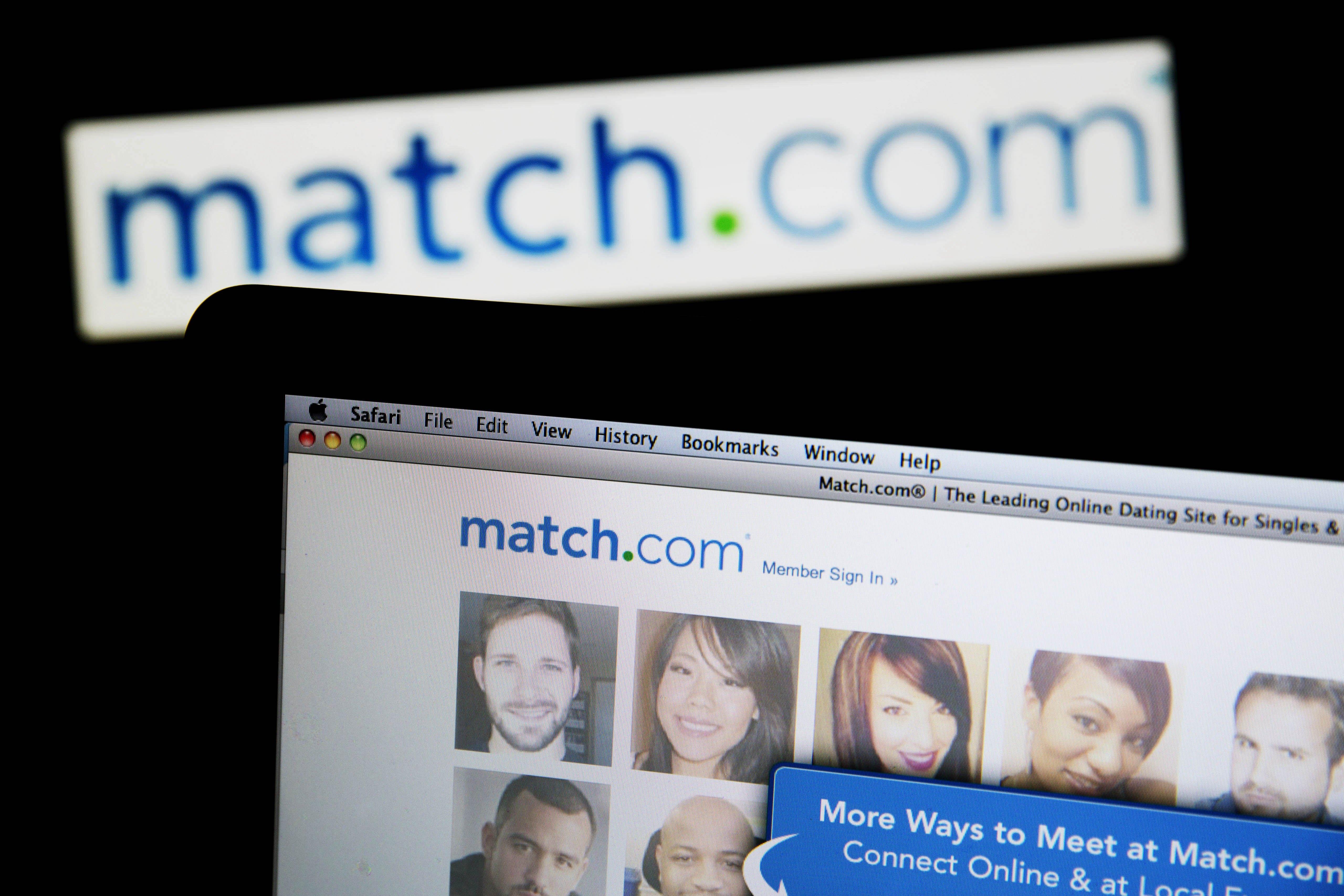 The Match.com logo and website.