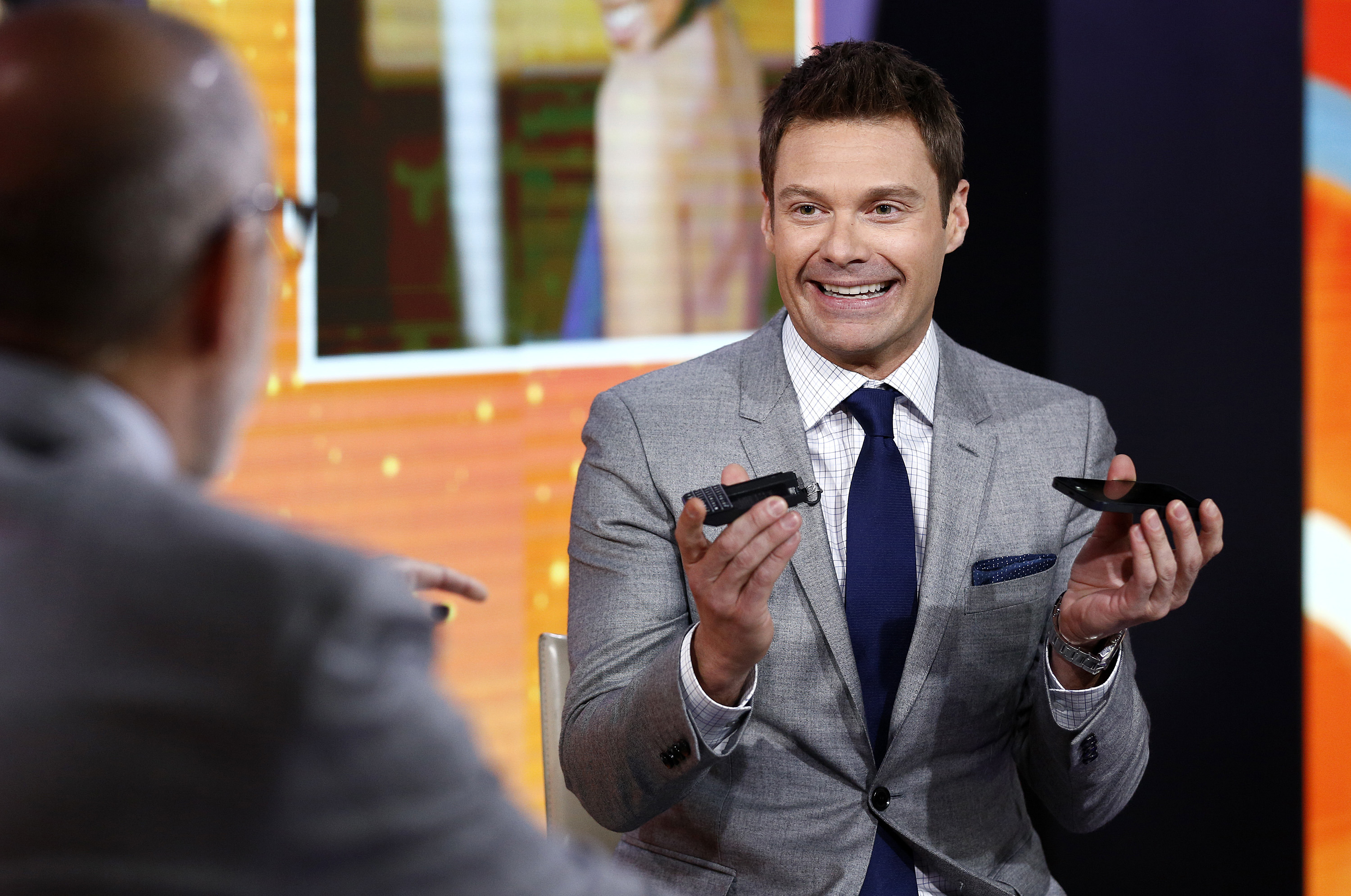 Ryan Seacrest appears on NBC News'  Today  show