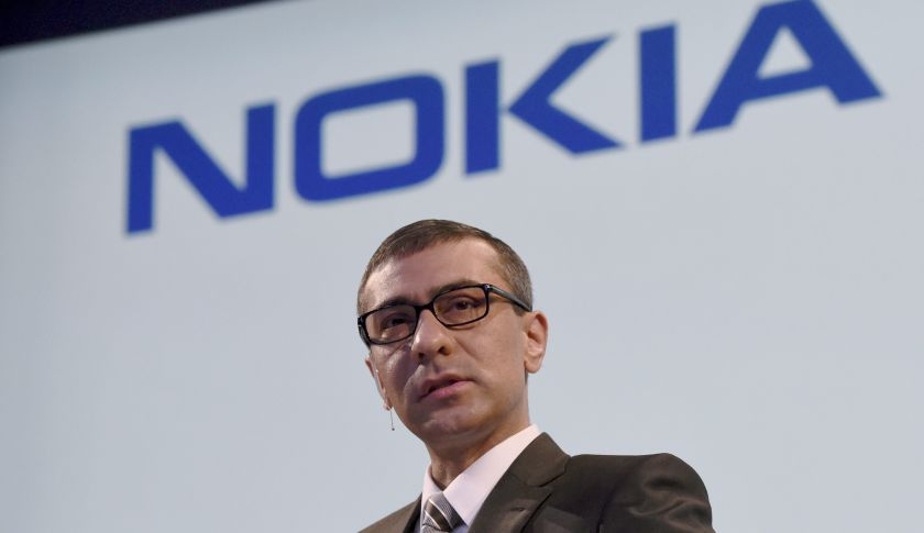 Nokia's Chief Executive Rajeev Suri.