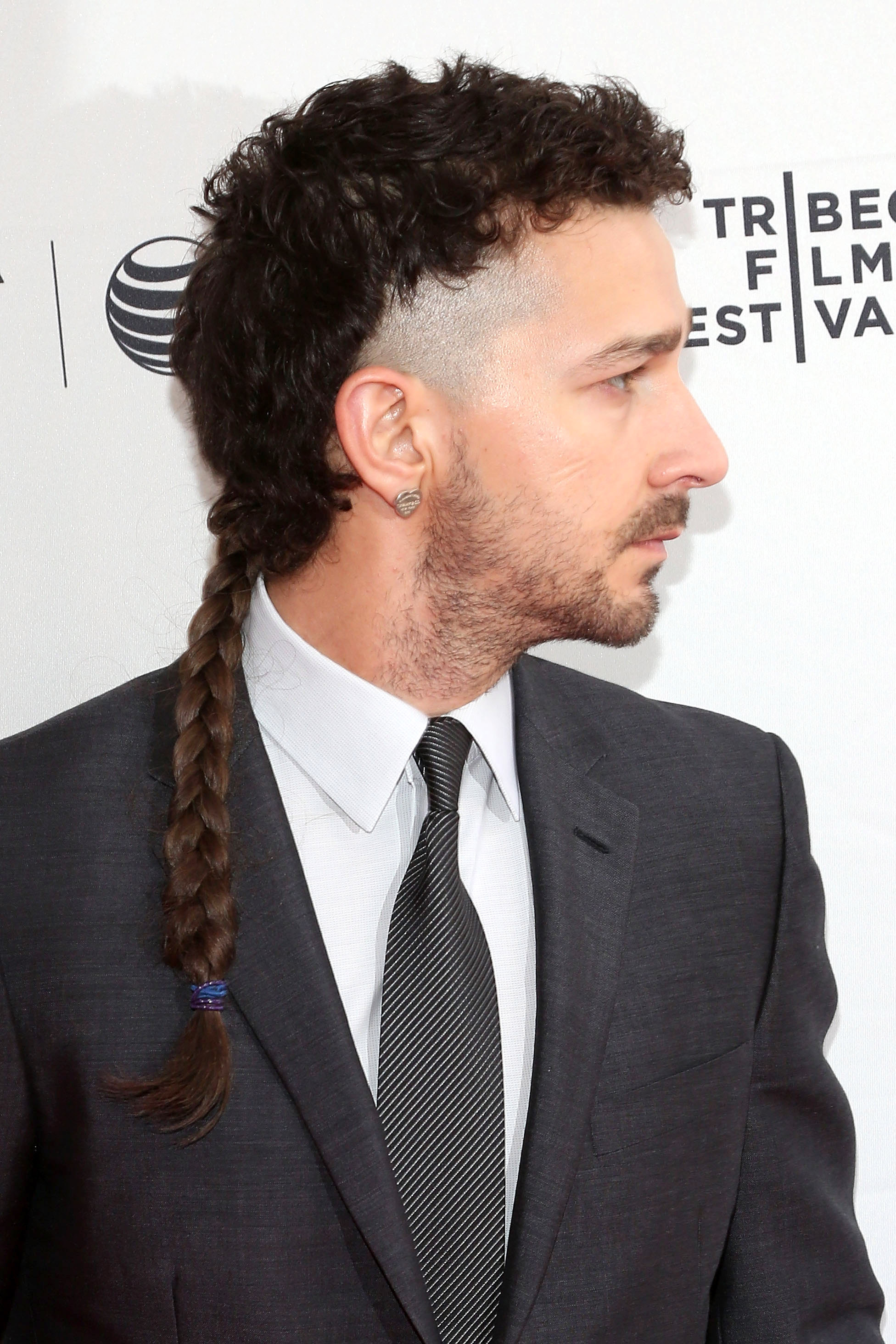 Executive producer Shia LaBeouf attends the world premiere of  LoveTrue  during the 2015 Tribeca Film Festival at SVA Theatre 2 on April 16, 2015 in New York City