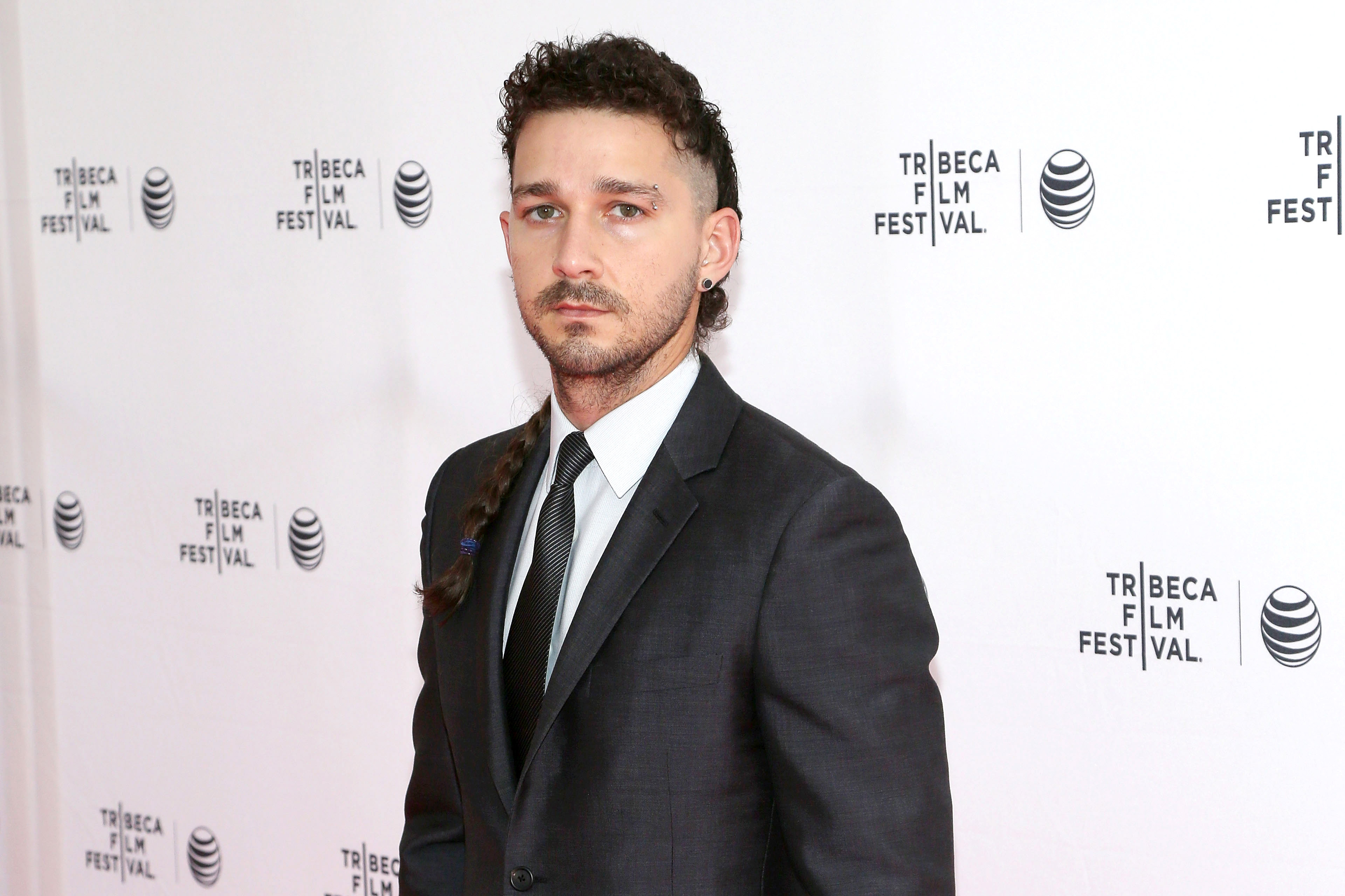 Executive producer Shia LaBeouf attends the world premiere of  LoveTrue  during the 2015 Tribeca Film Festival at SVA Theatre 2 on April 16, 2015 in New York City.