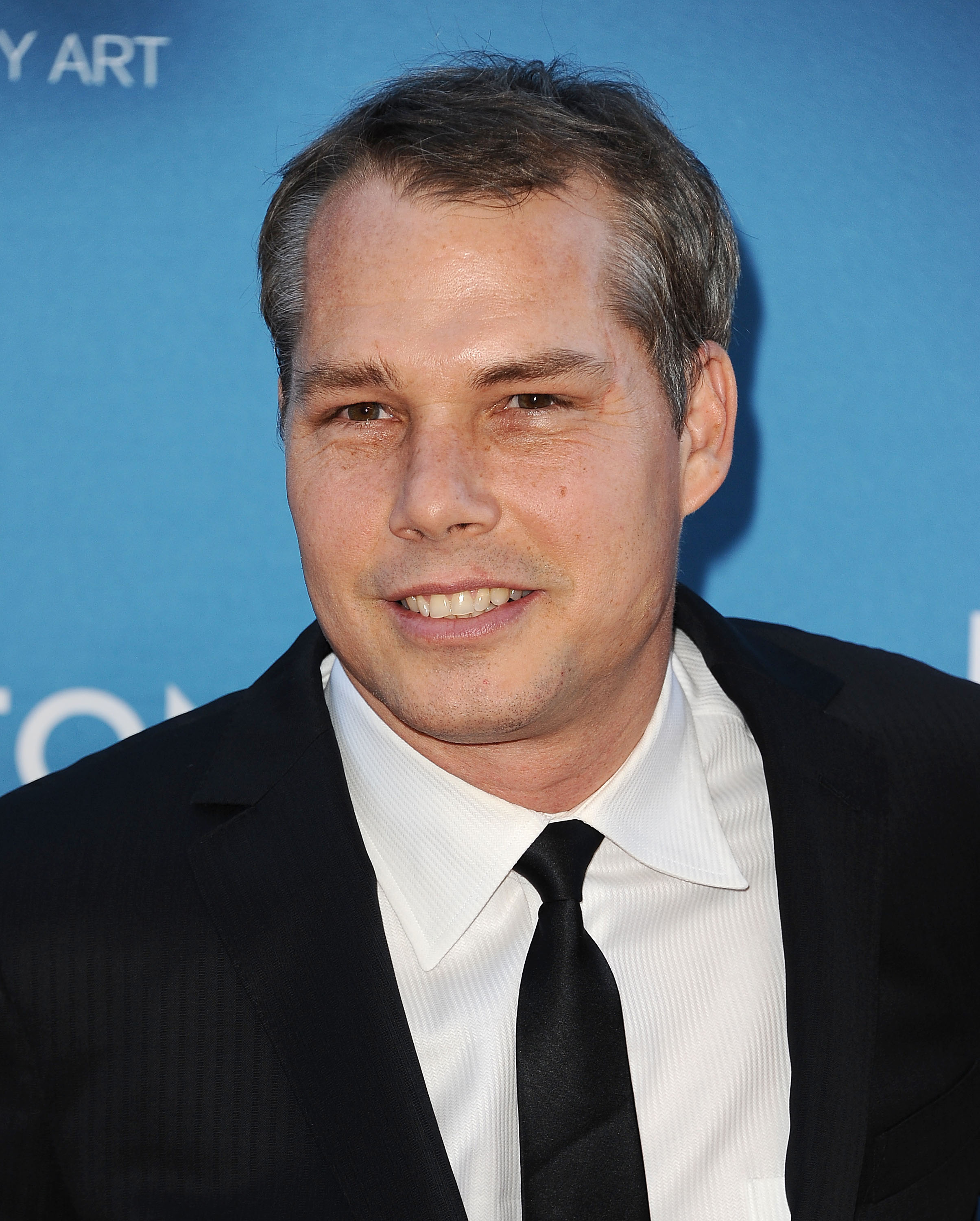 Shepard Fairey attends the 2015 MOCA Gala at The Geffen Contemporary at MOCA on May 30, 2015 in Los Angeles, California.