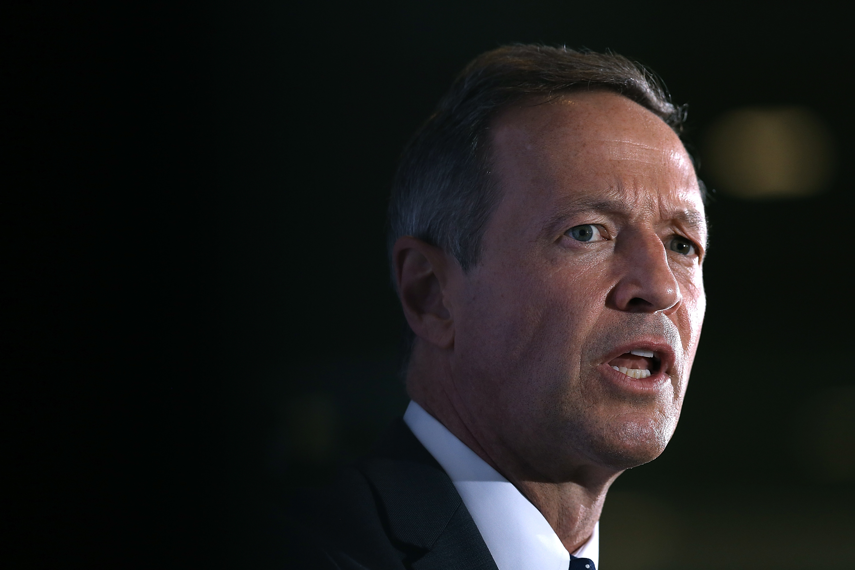 U.S. Democratic presidential candidate and former Maryland Gov. Martin O'Malley speaks at the U.S. Hispanic Chamber of Commerce June 3, 2015 in Washington, DC.