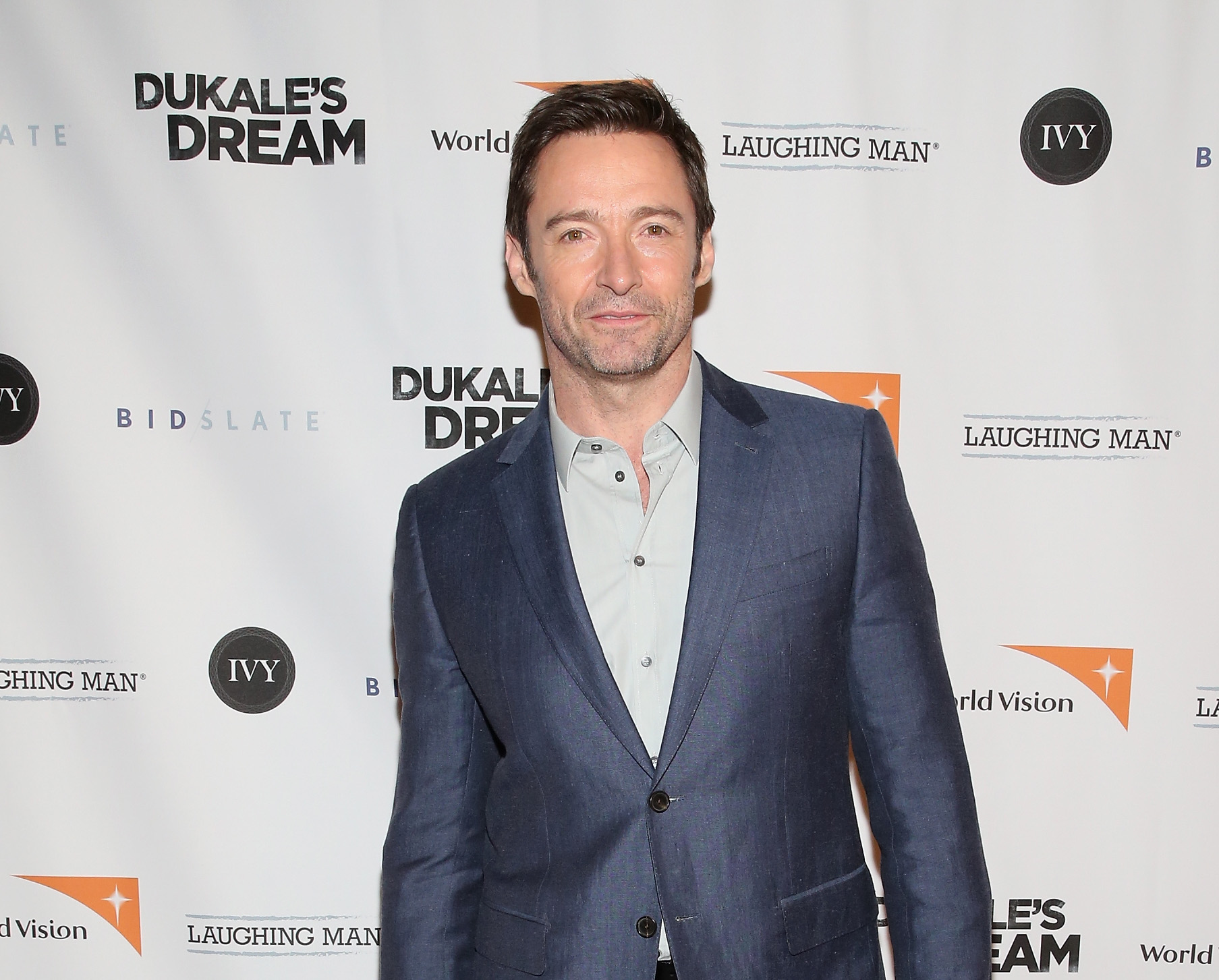 NEW YORK, NY - JUNE 04:  Actor Hugh Jackman attends the premiere of Dukale's Dream on June 4, 2015 in New York City.  (Photo by Robin Marchant/Getty Images for The 7th Floor)