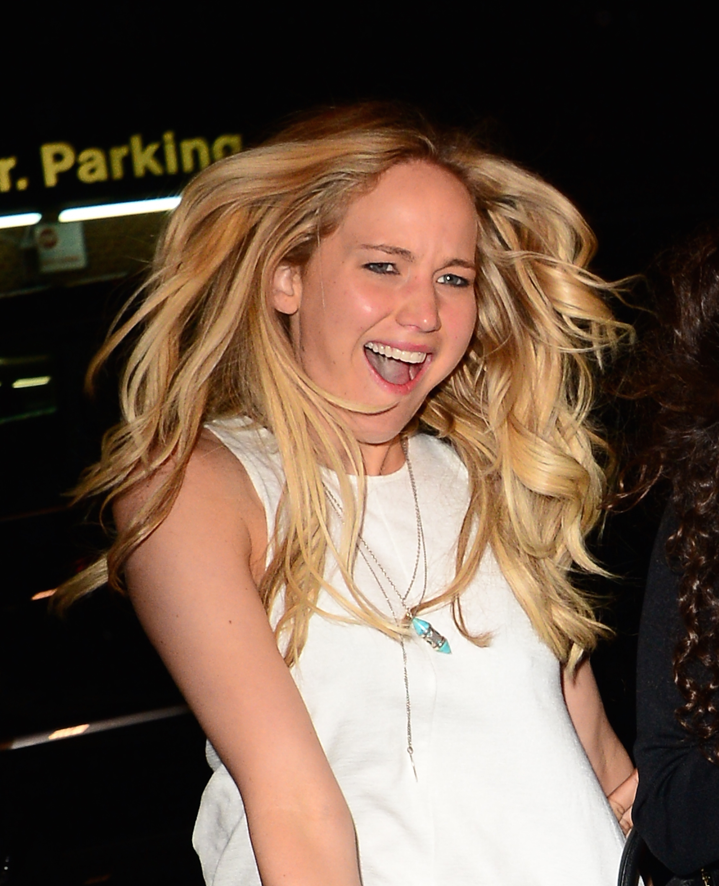 Actress Jennifer Lawrence is seen walking in Soho on June 24, 2015 in New York City.  (Raymond Hall--GC Images)