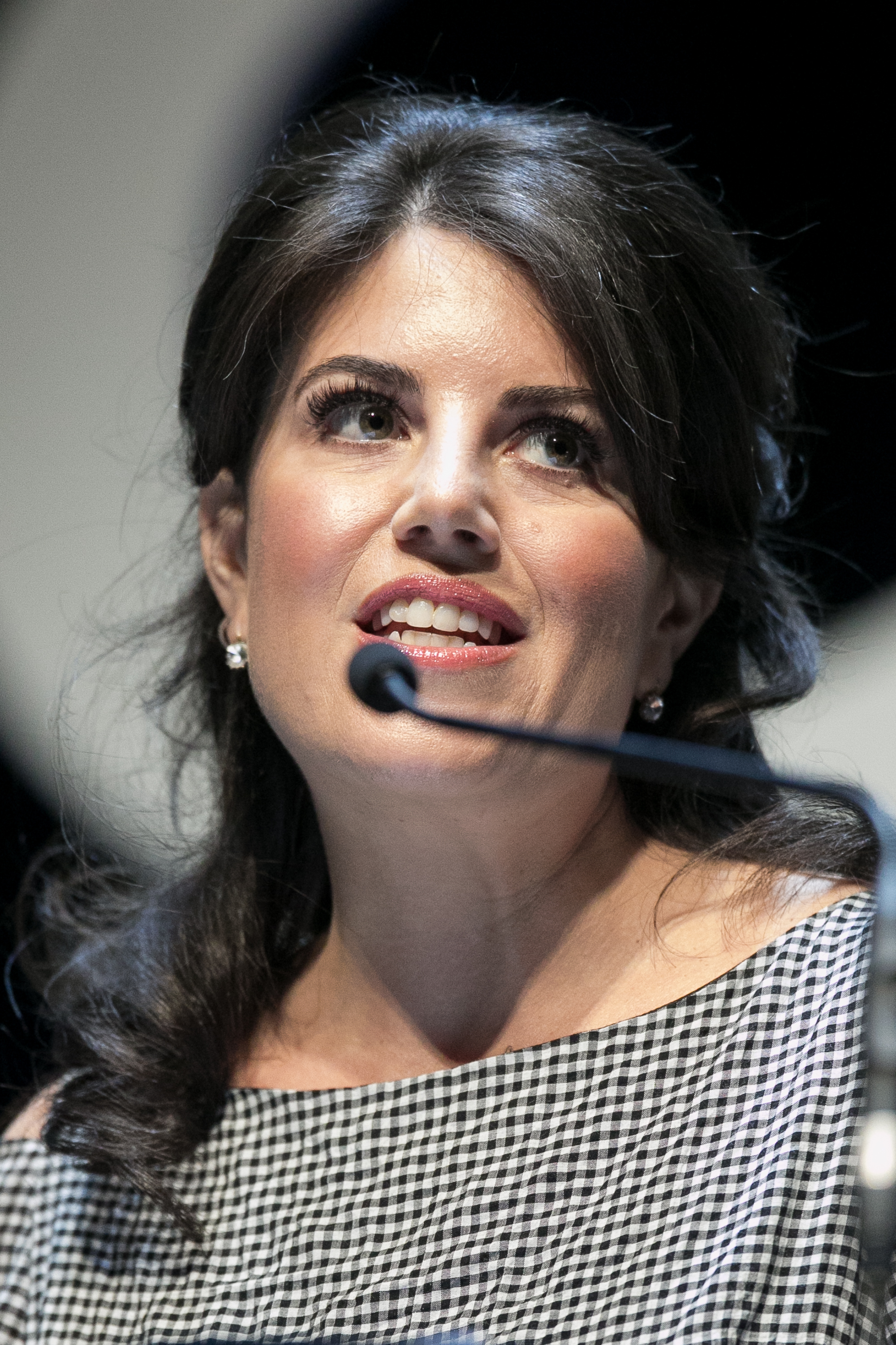 Monica Lewinsky attends the 'Cannes Lions Festival' on June 25, 2015 in Cannes, France.