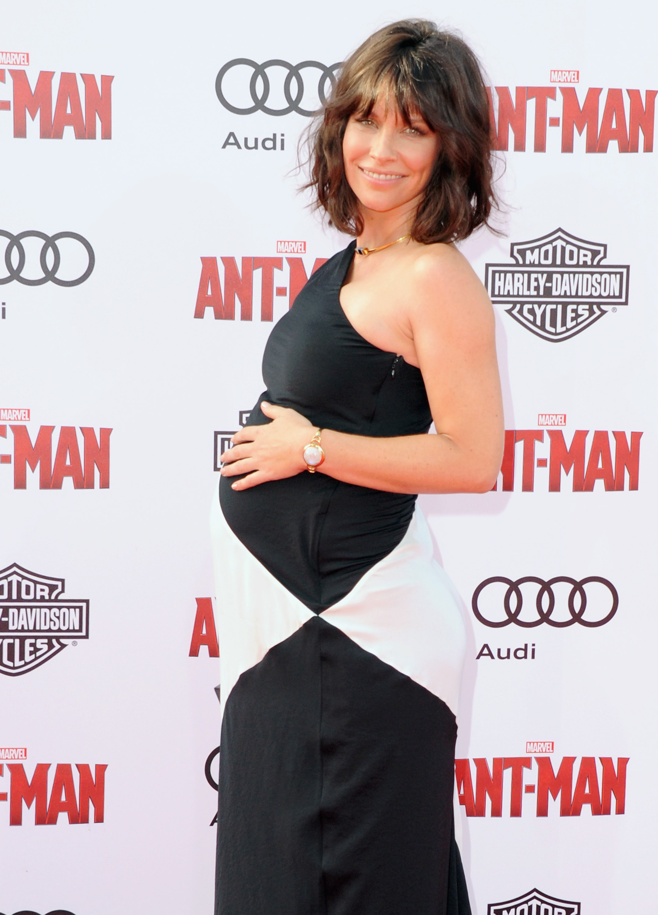Actress Evangeline Lilly arrives at the Los Angeles Premiere  Ant-Man  at Dolby Theatre on June 29, 2015 in Hollywood, Calif.