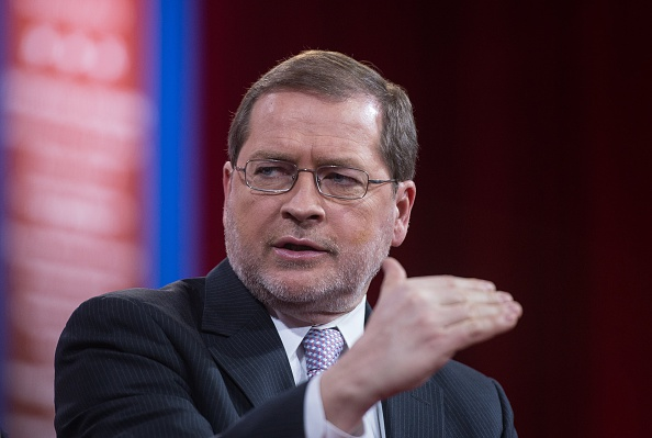 Grover Norquist, founder and president of Americans for Tax Reform, participates in a session on  Strategic Communication  at the annual Conservative Political Action Conference (CPAC) at National Harbor, Maryland, outside Washington, on February 26, 2015.