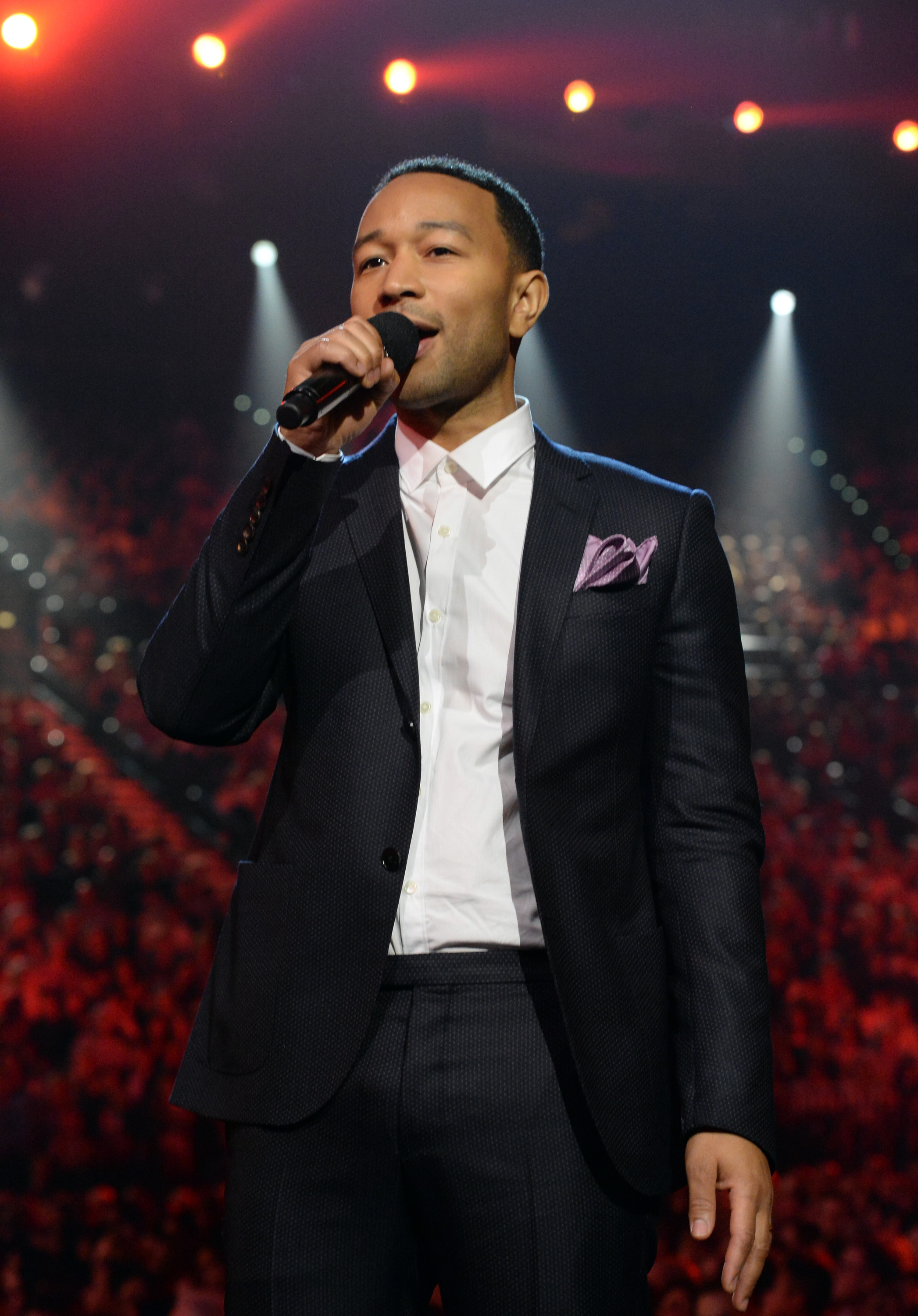John Legend onstage during the 2015 Billboard Music Awards at MGM Grand Garden Arena on May 17, 2015 in Las Vegas, Nevada.