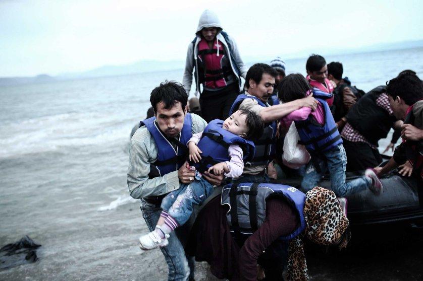 Kos Migrants Greece