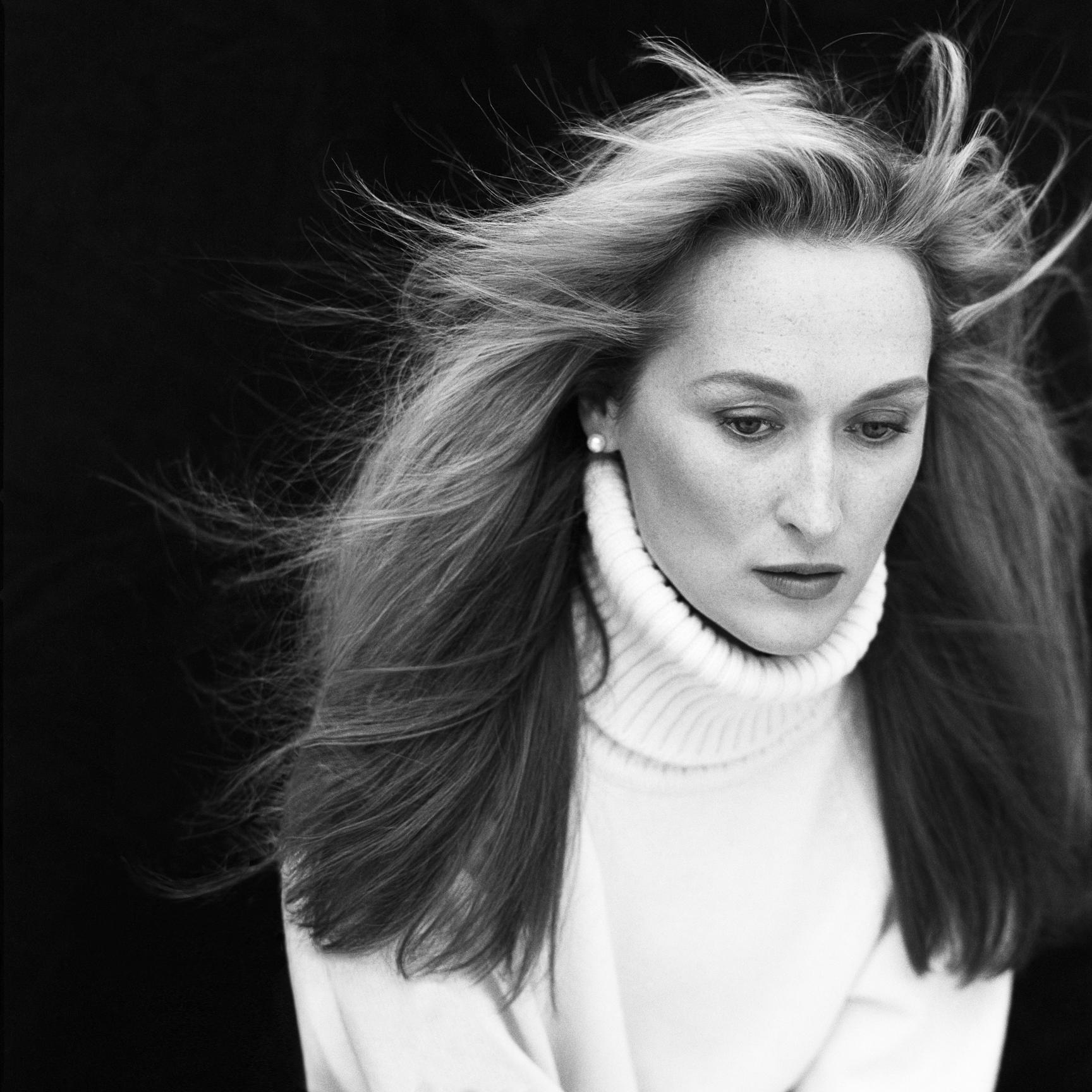 Meryl Streep, Soho, New York, 1988.