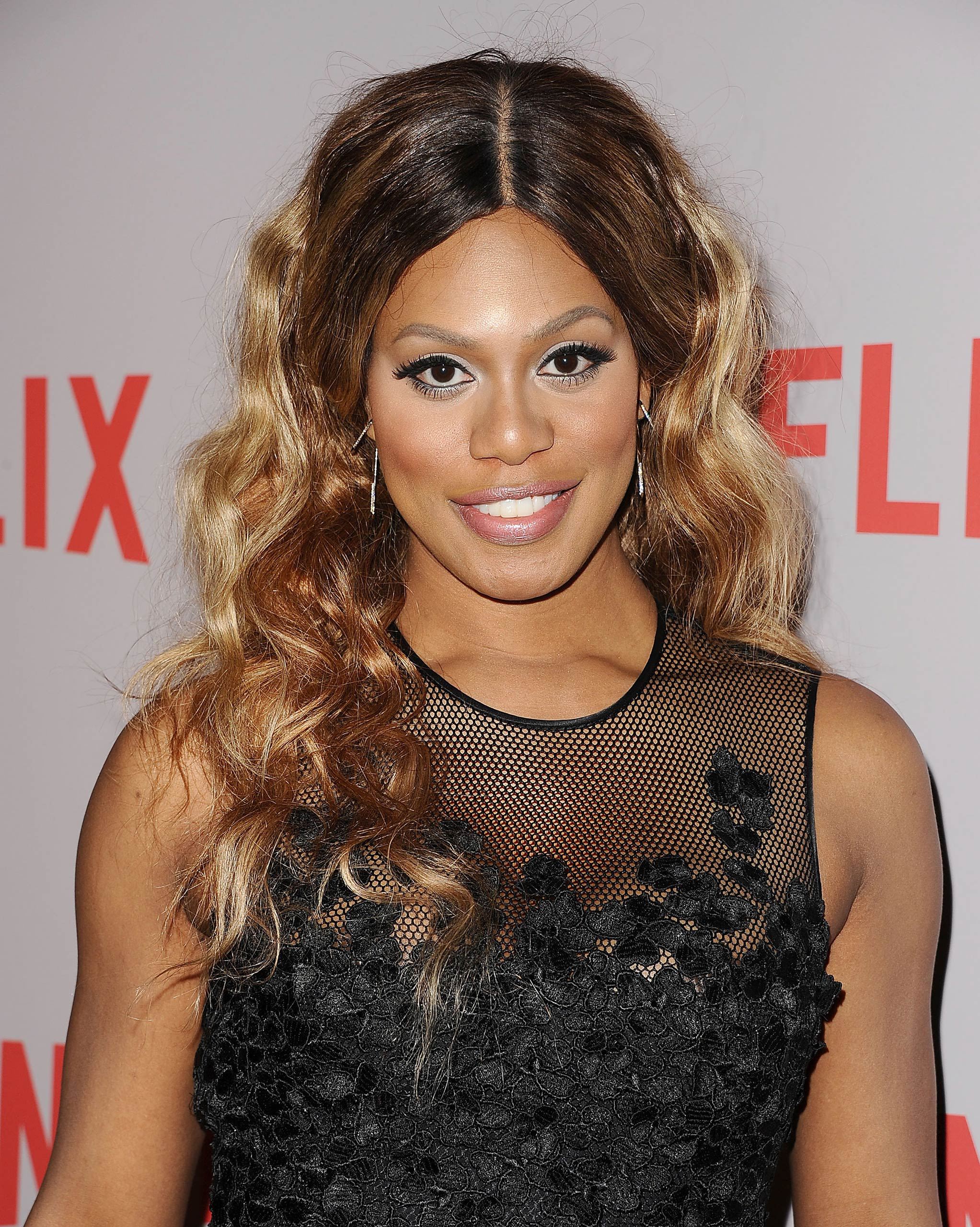 Laverne Cox attends Netflix's Orange Is The New Black screening and Q&A at the Directors Guild Of America on May 20, 2015 in Los Angeles.