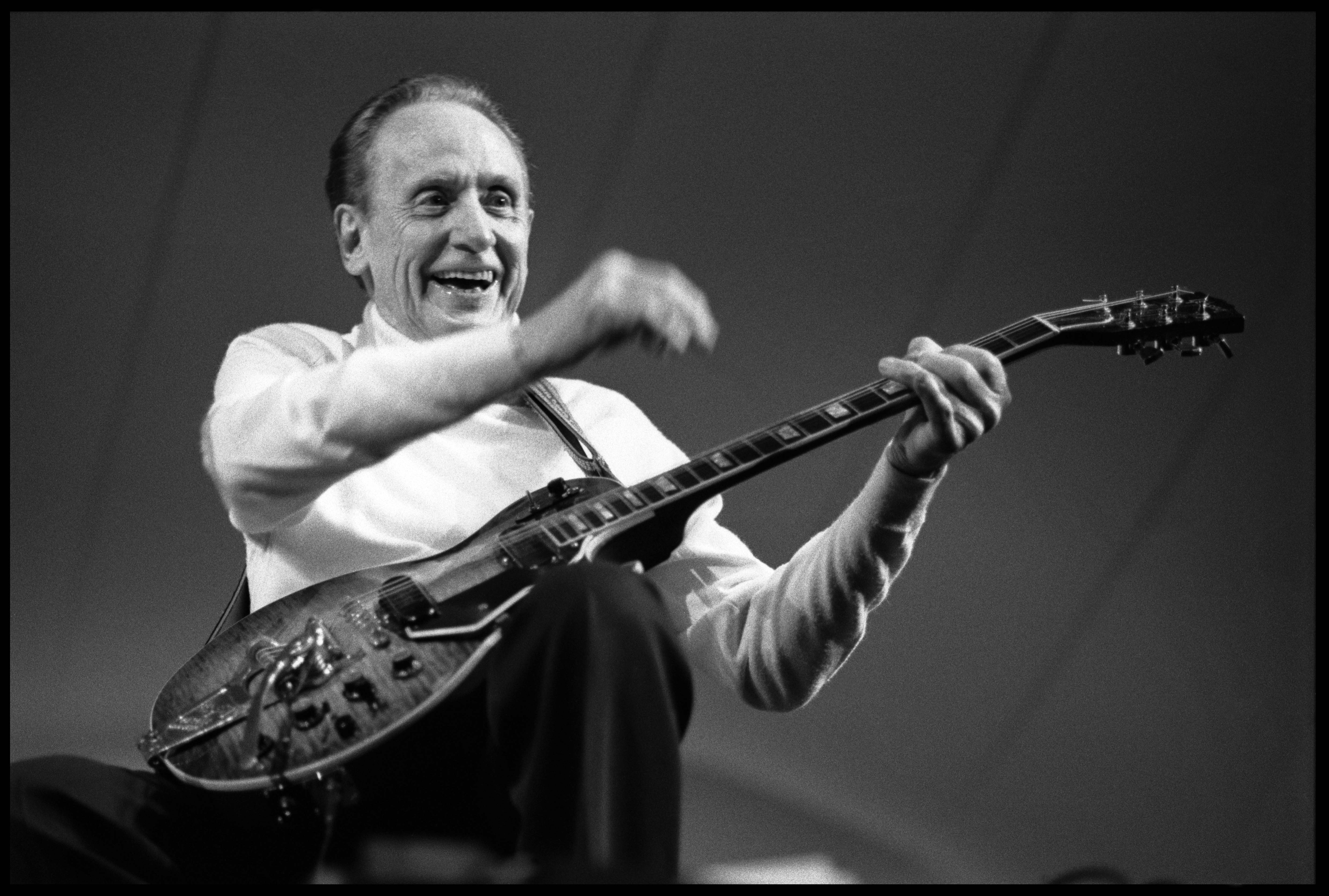 Game-changing inventor and virtuoso performer, Les Paul was, in the words of Led Zeppelin guitarist Jimmy Page,  the man who started everything. He's just a genius.  He was 94.