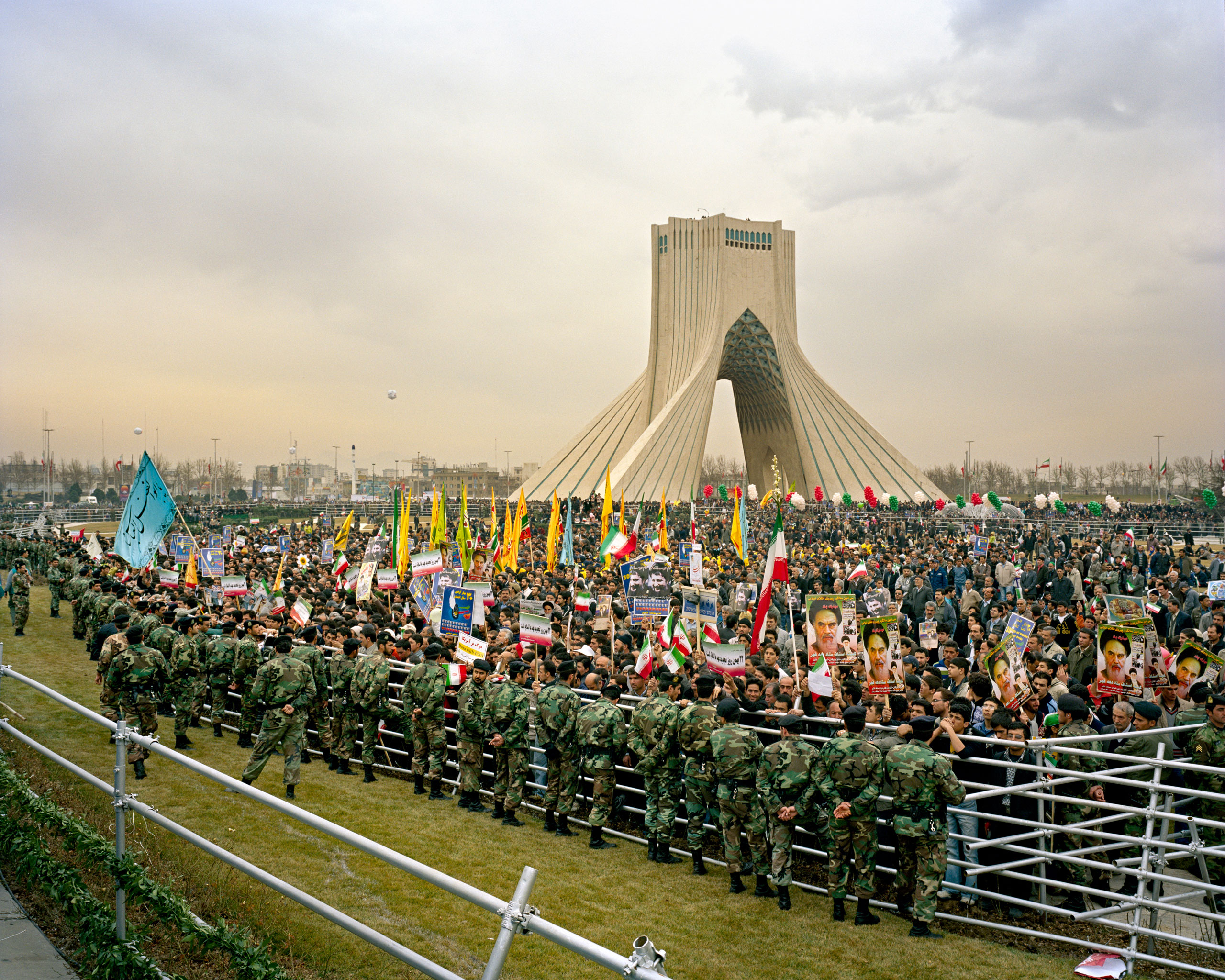 Freedom Square, 30th anniversary of Islamic Revolution, 2009Official ceremonies in Azadi Square (Freedom Square) in Tehran.