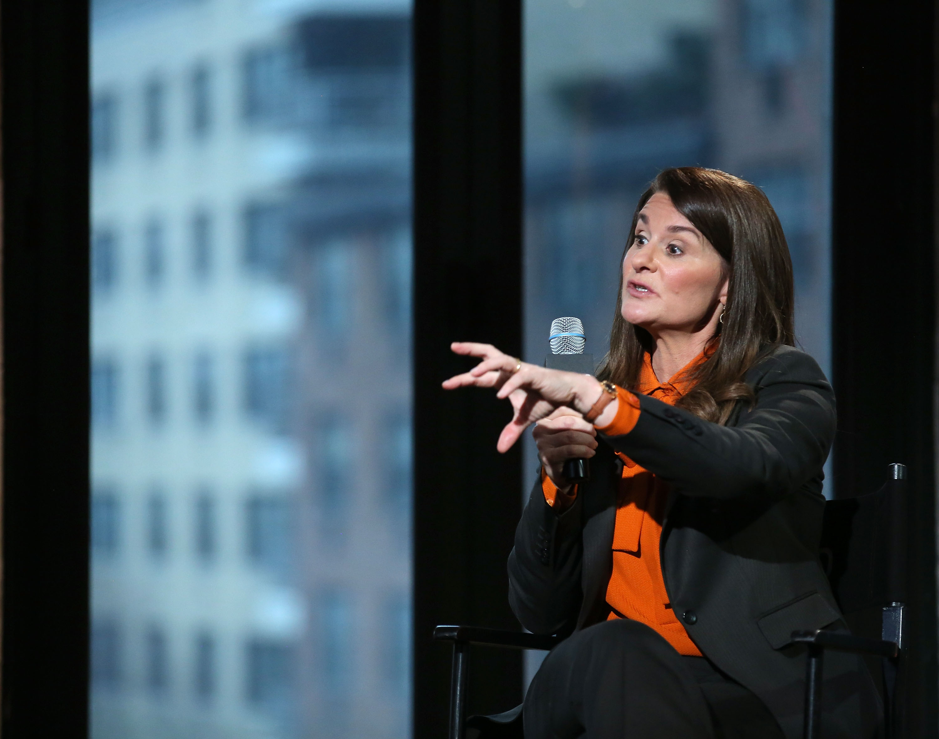 Filling bellies: Melinda Gates and the Gates Foundation are going after one of the leading killers of babies