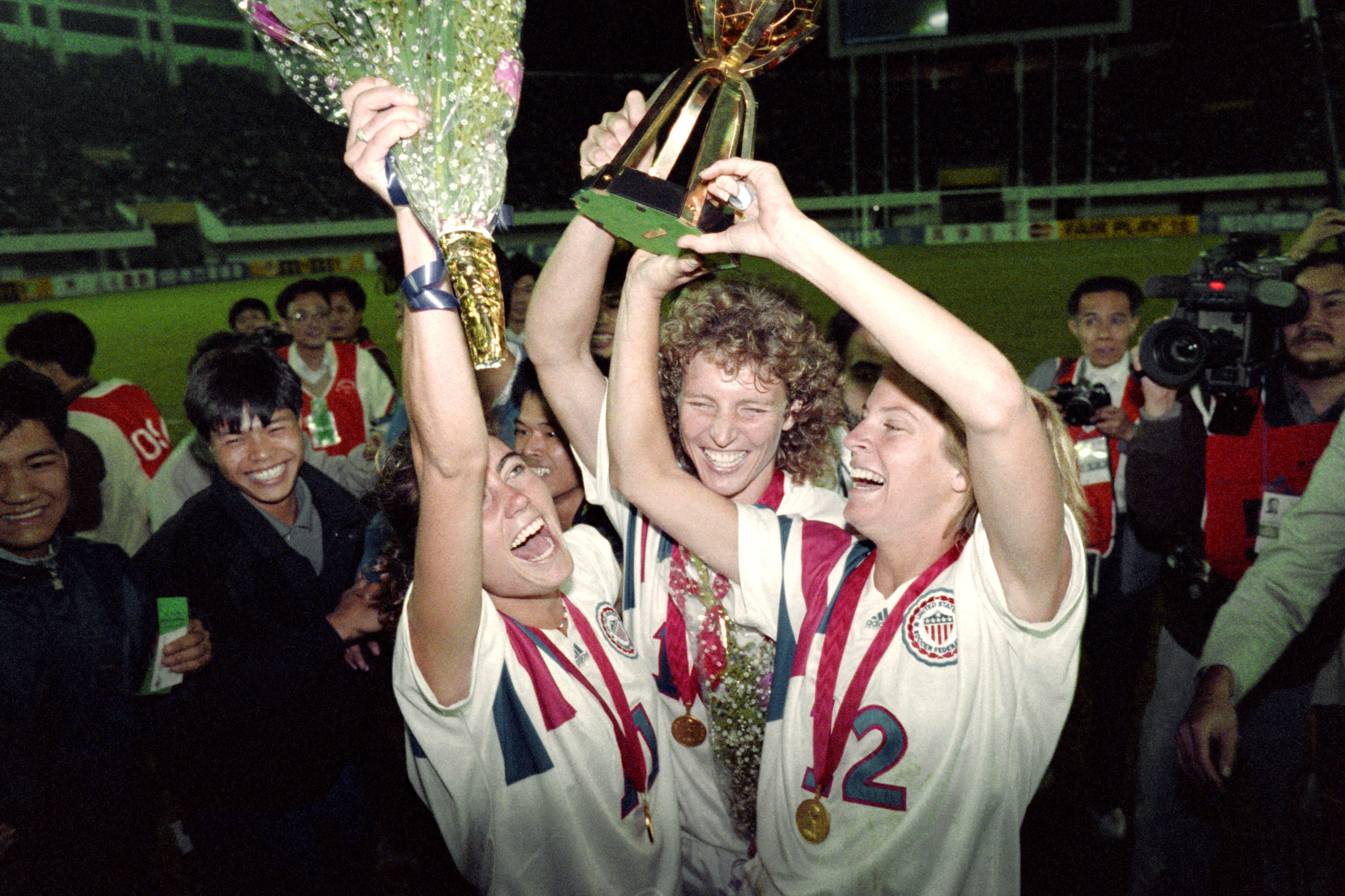 Michelle Akers-Stahl us womens world cup 1991