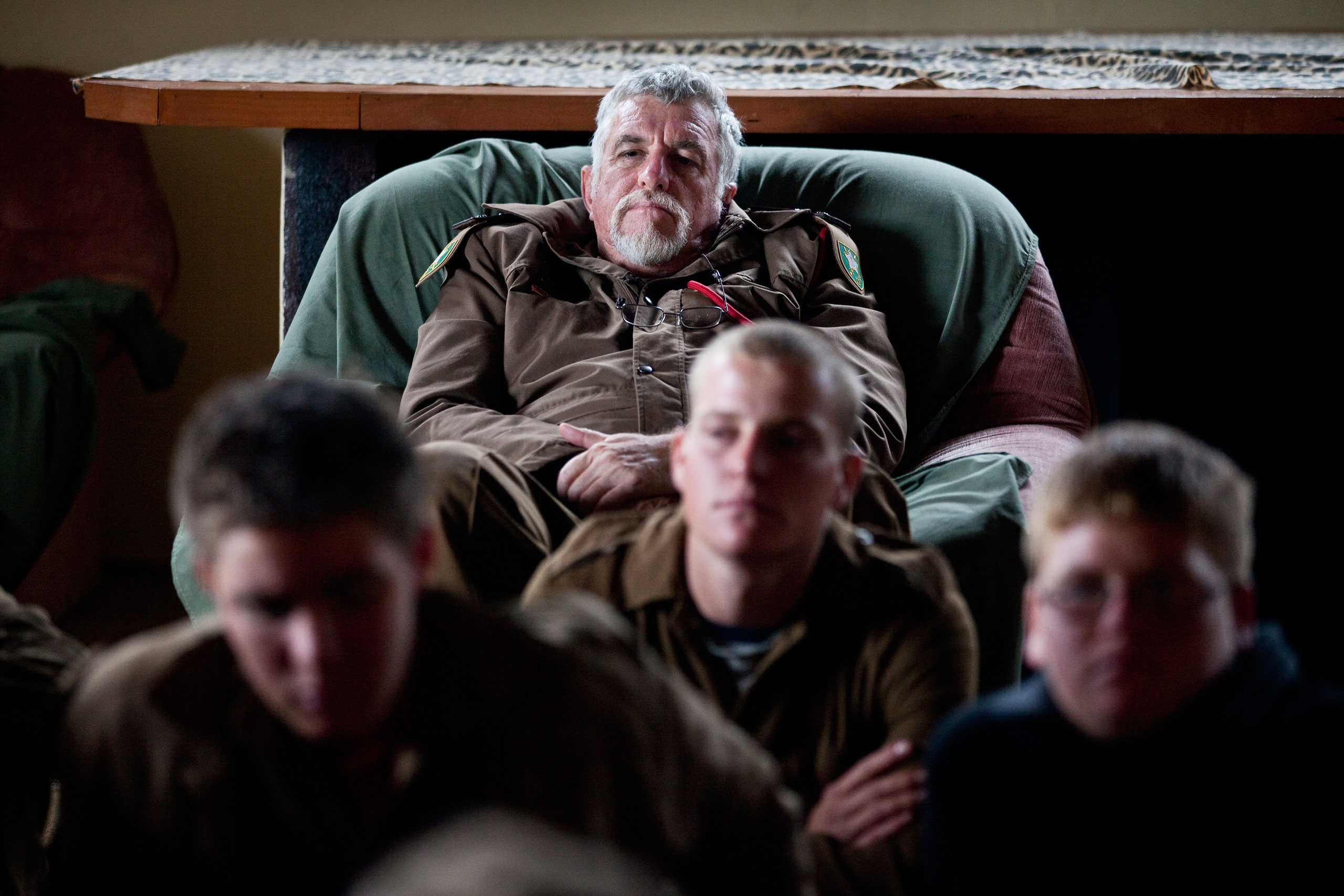 Self-proclaimed Colonel Franz Jooste, the 57-year old leader of the camp, claims the Kommandokorps has trained between 1500 and 1800 young white Afrikaners over the past 11 years.
