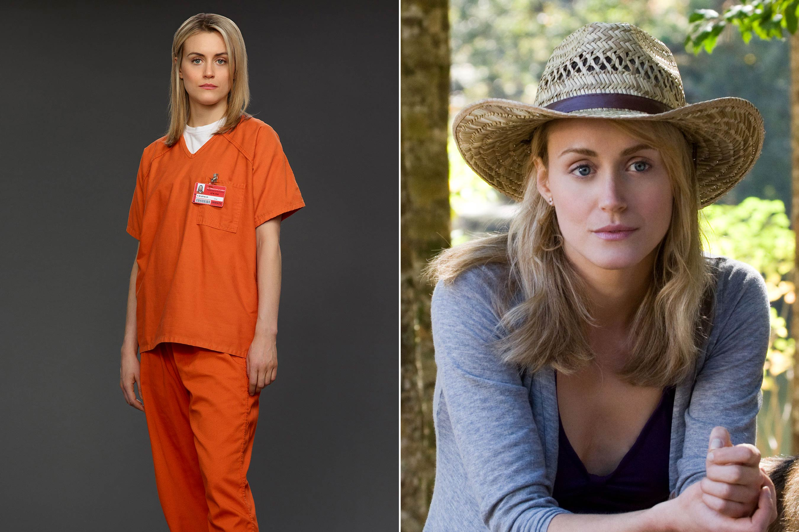 Before Taylor Schilling played Piper Chapman on <i>Orange Is the New Black</i> she starred as Beth Green in <i>The Lucky One</i>.